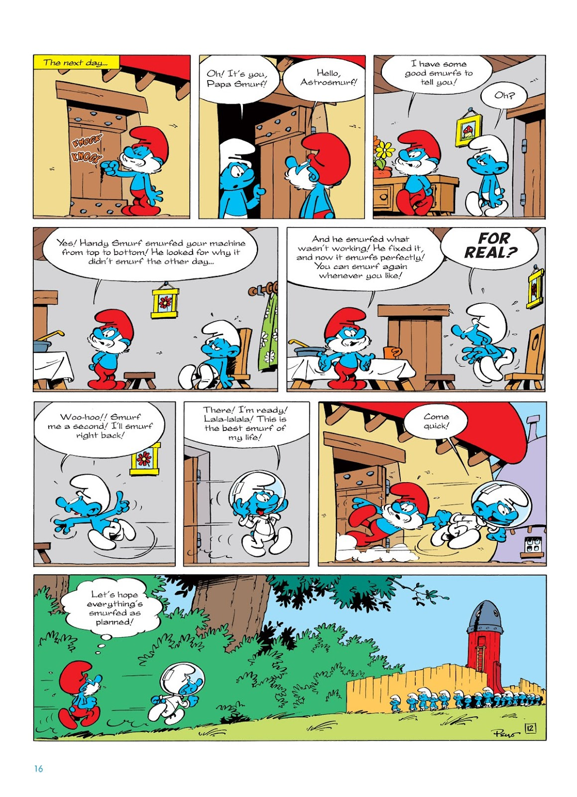 Read online The Smurfs comic -  Issue #7 - 16