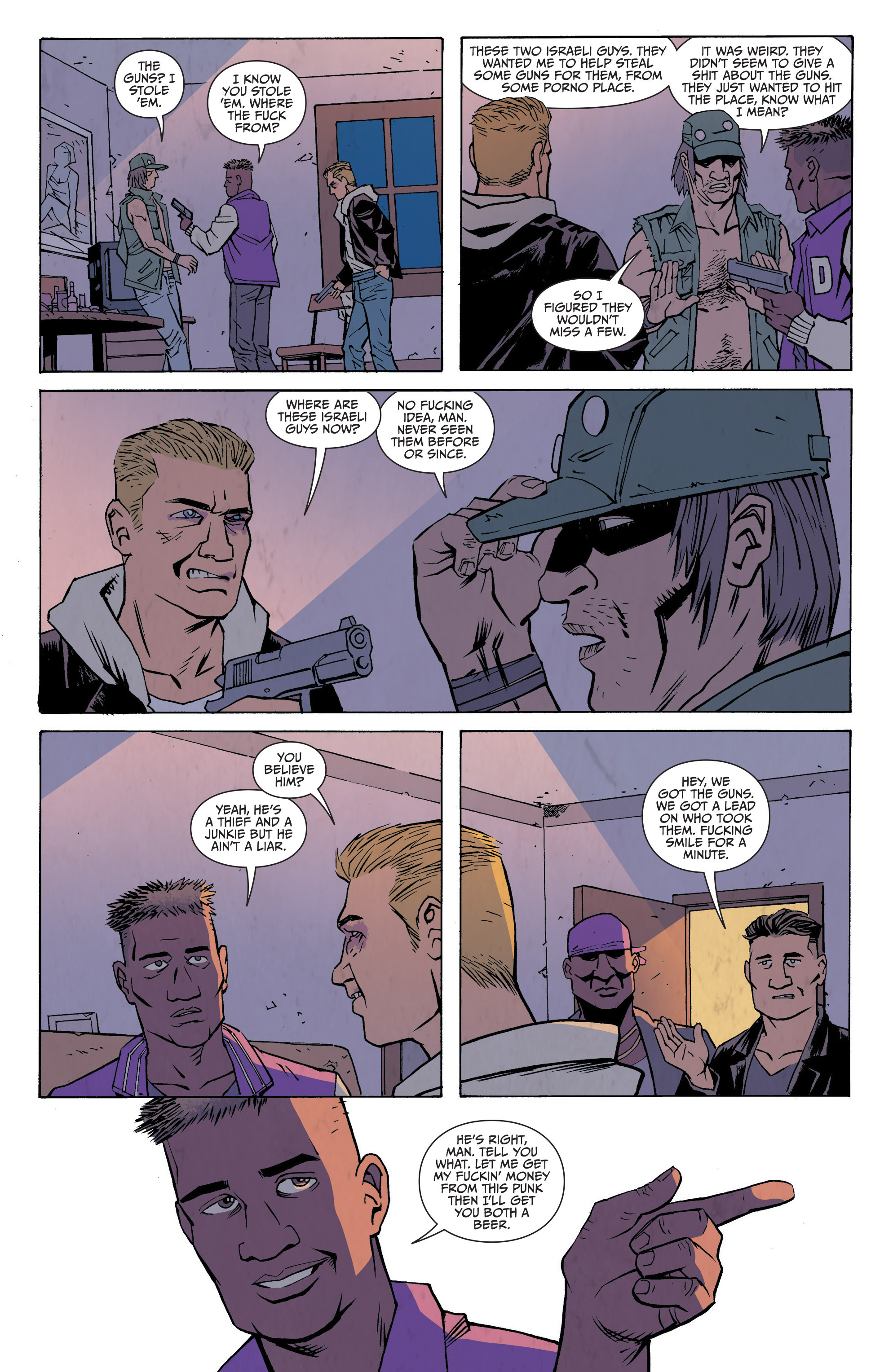 Read online Sons of Anarchy: Redwood Original comic -  Issue #7 - 15