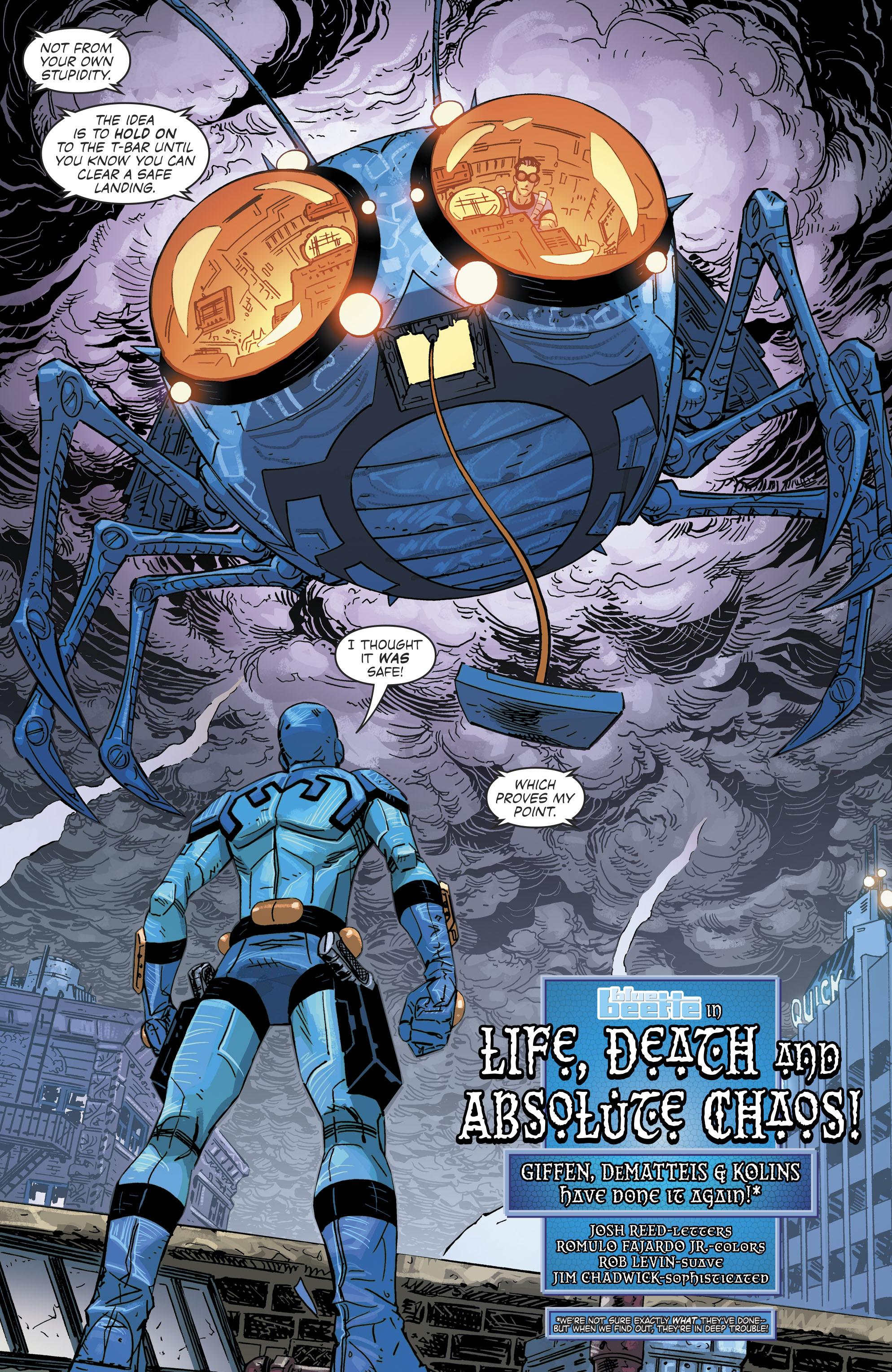 Read online Blue Beetle (2016) comic -  Issue #9 - 6