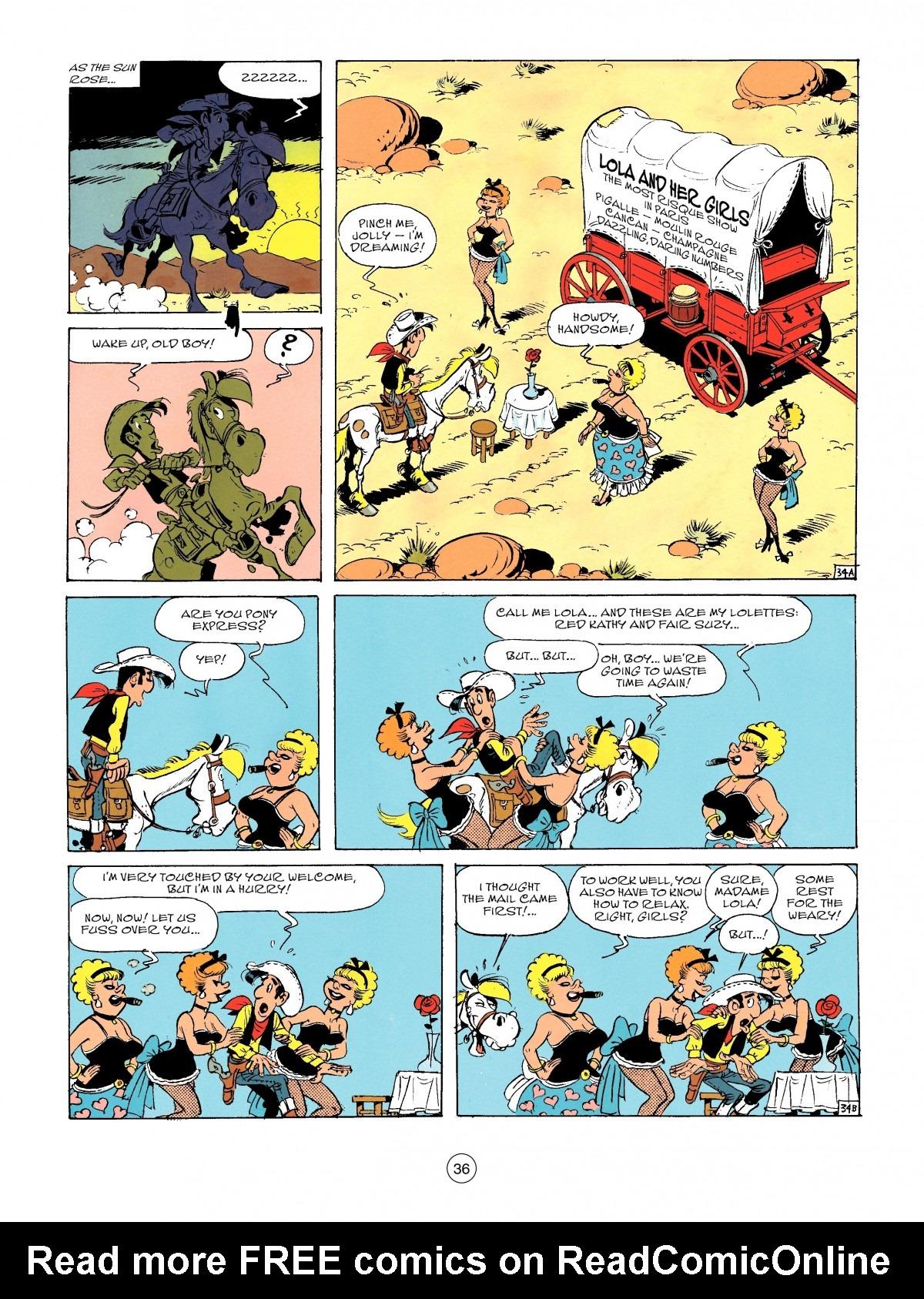 Read online A Lucky Luke Adventure comic -  Issue #46 - 36