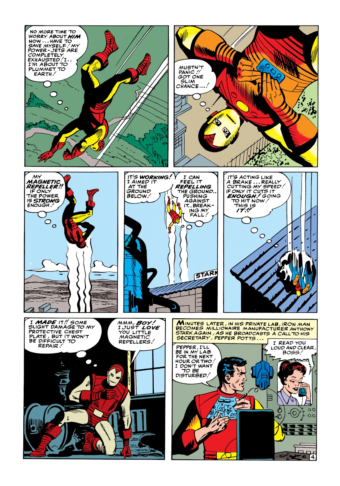 Read online Marvel Masterworks: The Invincible Iron Man comic -  Issue # TPB 1 (Part 2) - 62