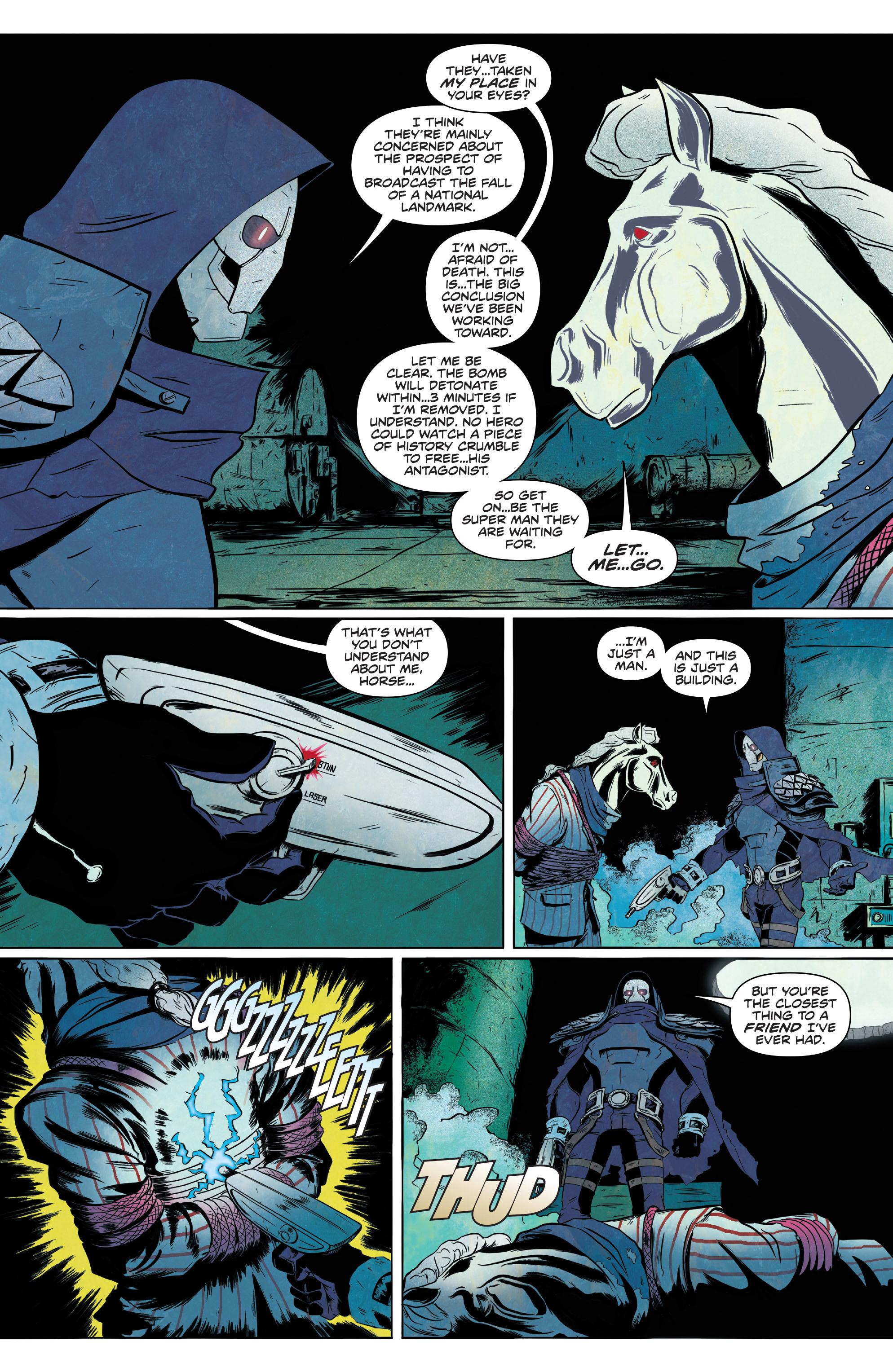 Read online Translucid comic -  Issue #1 - 20