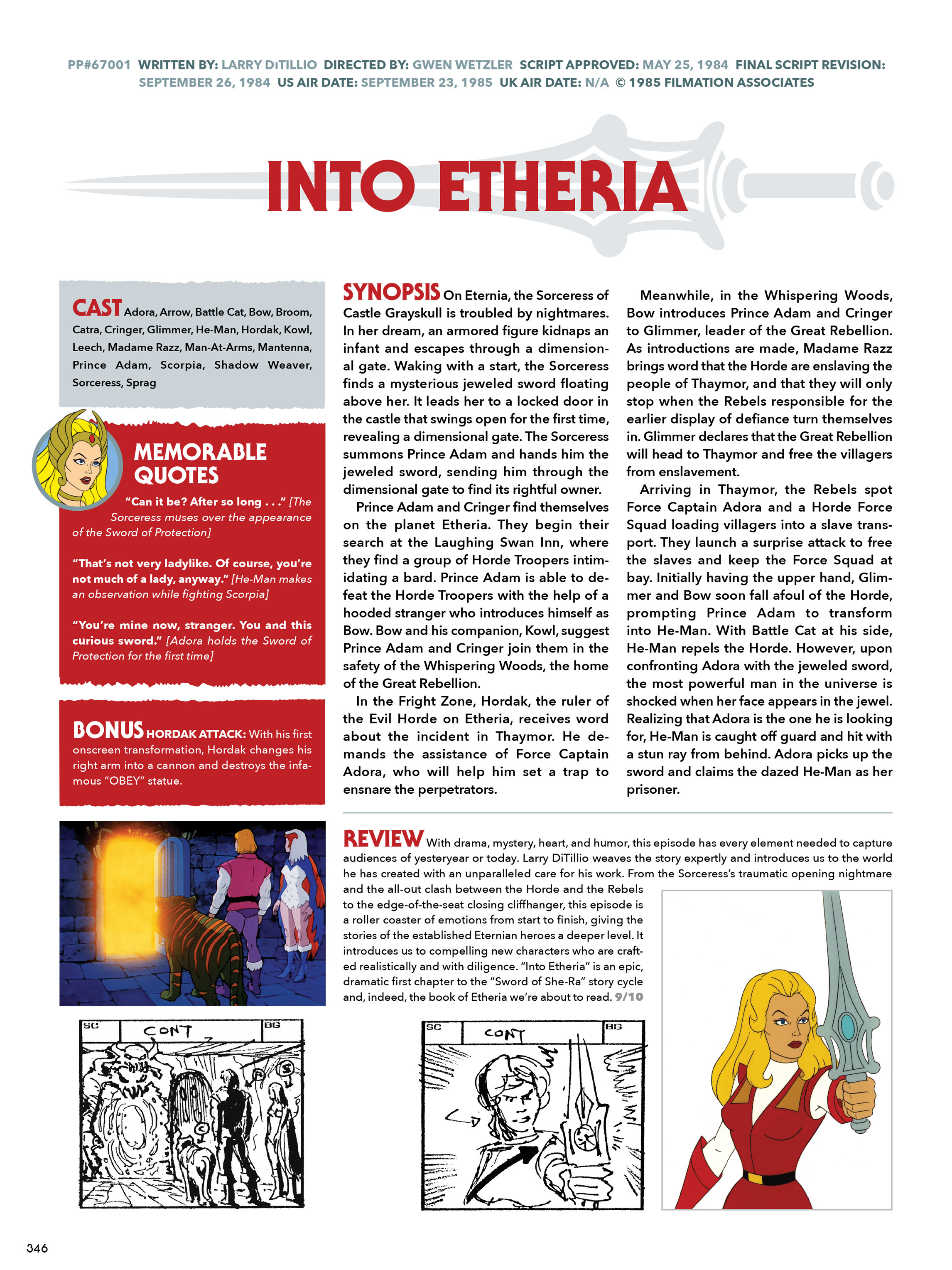 Read online He-Man and She-Ra: A Complete Guide to the Classic Animated Adventures comic -  Issue # TPB (Part 2) - 147