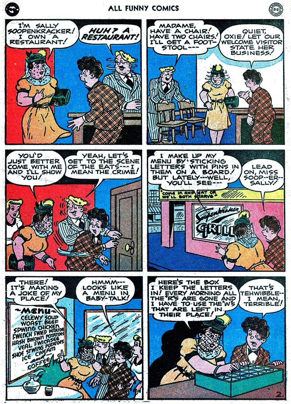 All Funny Comics issue 14 - Page 4