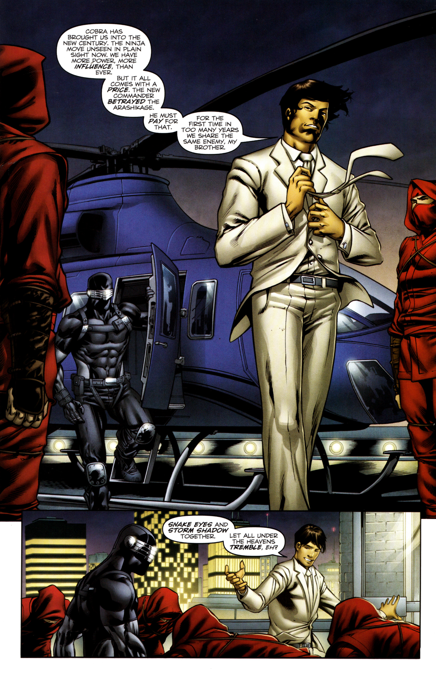 Read online Snake Eyes and Storm Shadow comic -  Issue #13 - 6