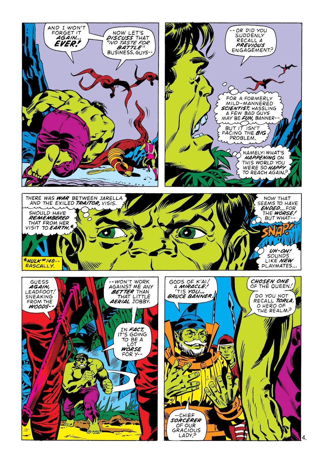 Read online Marvel Masterworks: The Incredible Hulk comic -  Issue # TPB 8 (Part 3) - 65