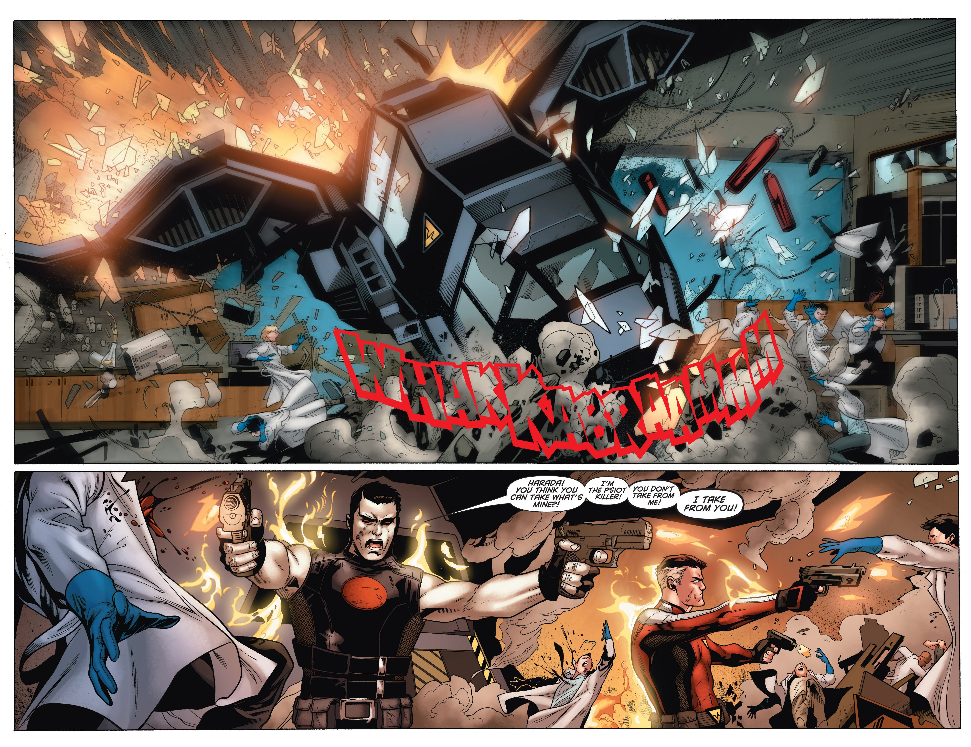 Read online Bloodshot and H.A.R.D.Corps comic -  Issue # TPB 4 - 64