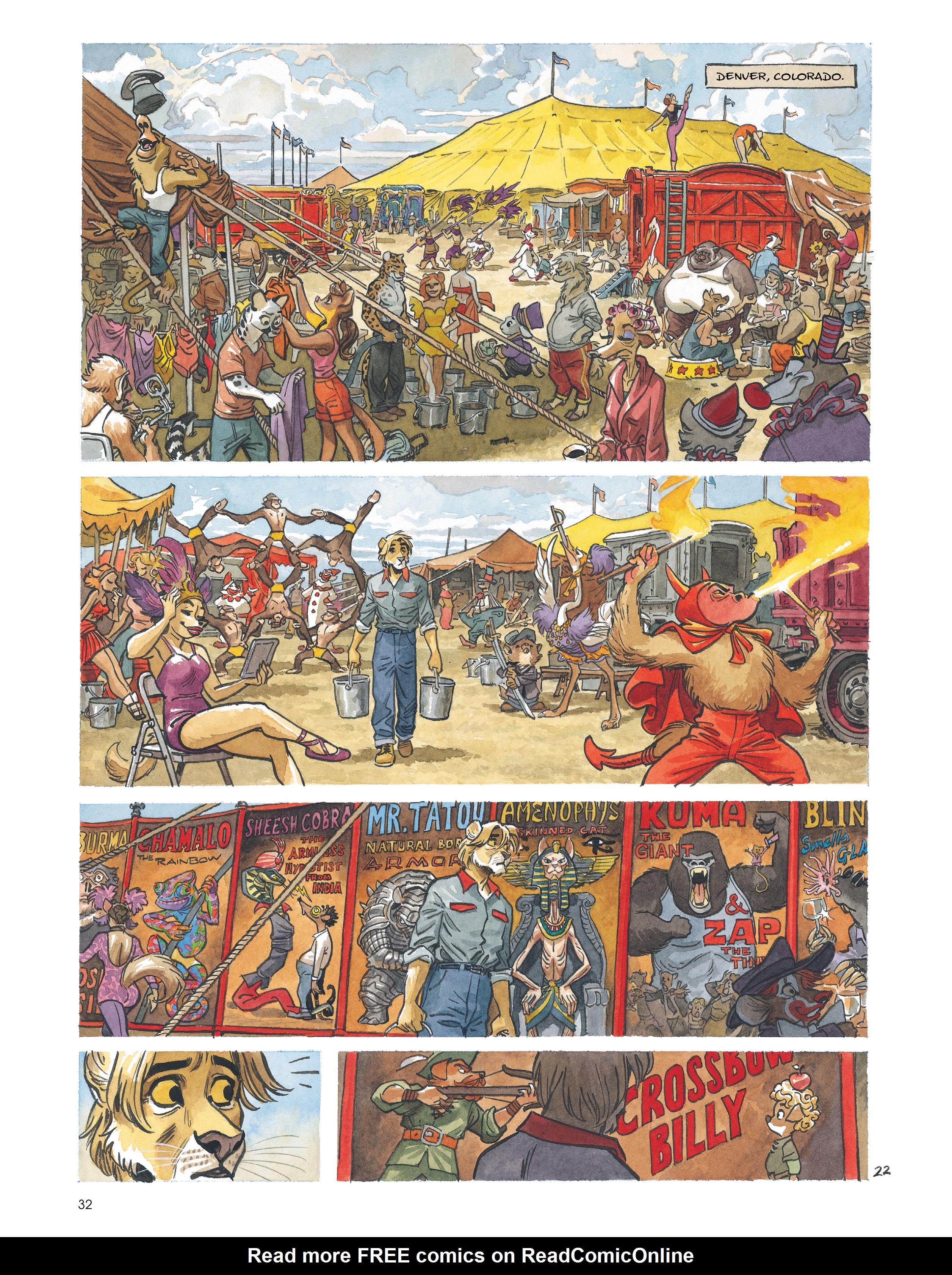 Read online Blacksad: Amarillo comic -  Issue # Full - 31