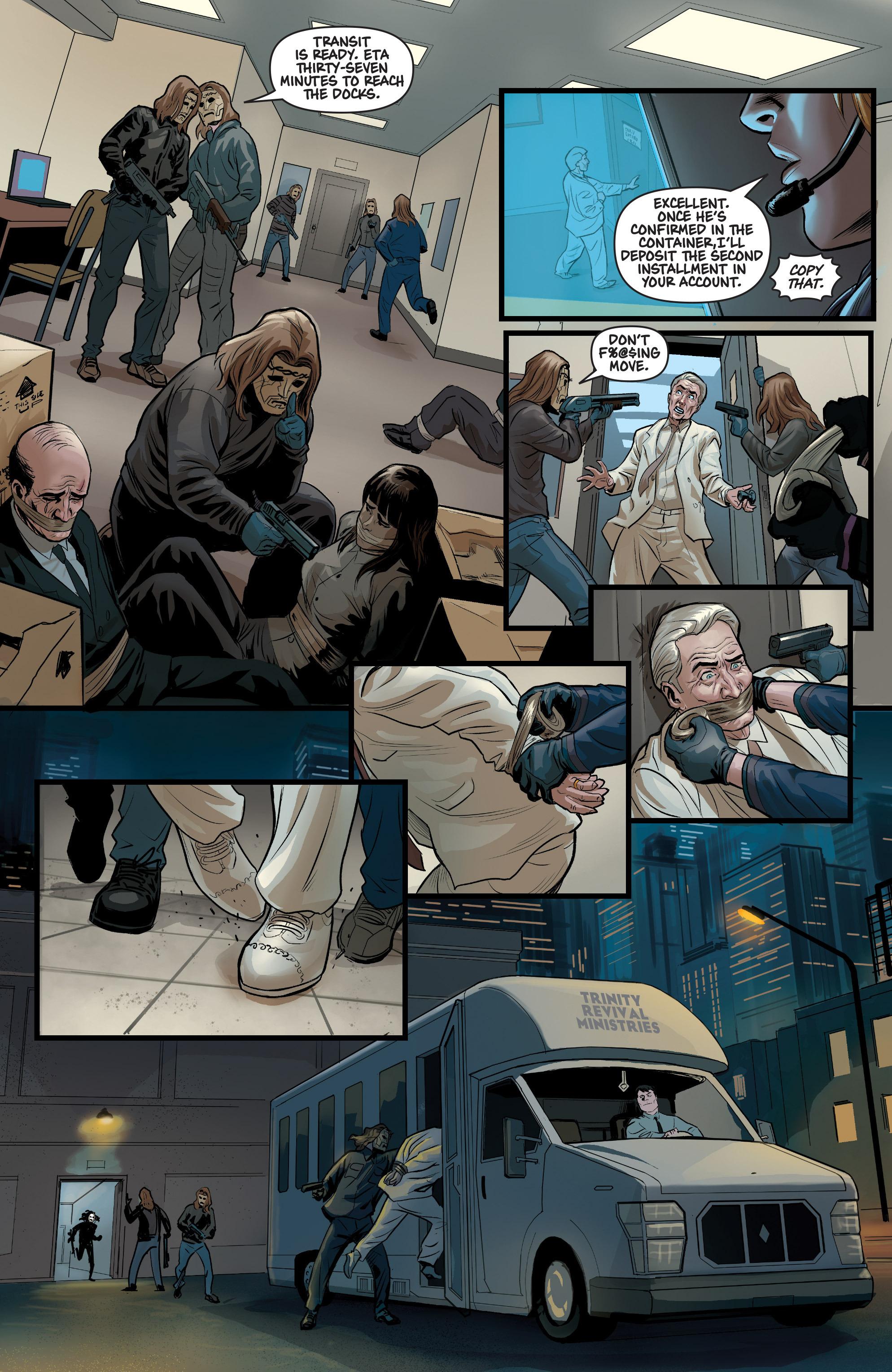 Read online Samaritan: Vertias comic -  Issue #1 - 14