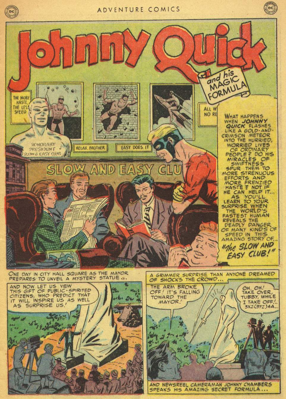 Read online Adventure Comics (1938) comic -  Issue #162 - 17