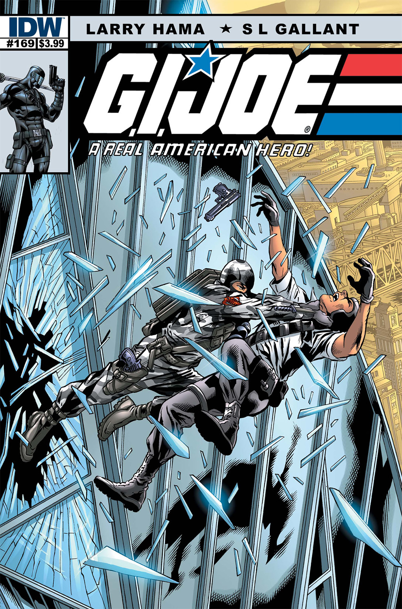 G.I. Joe: A Real American Hero 169 Page 1