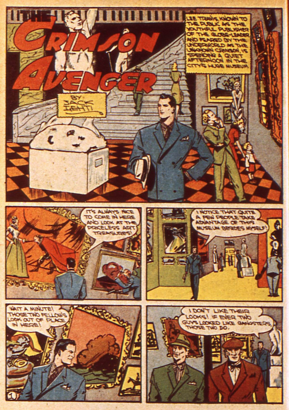 Read online Detective Comics (1937) comic -  Issue #47 - 30