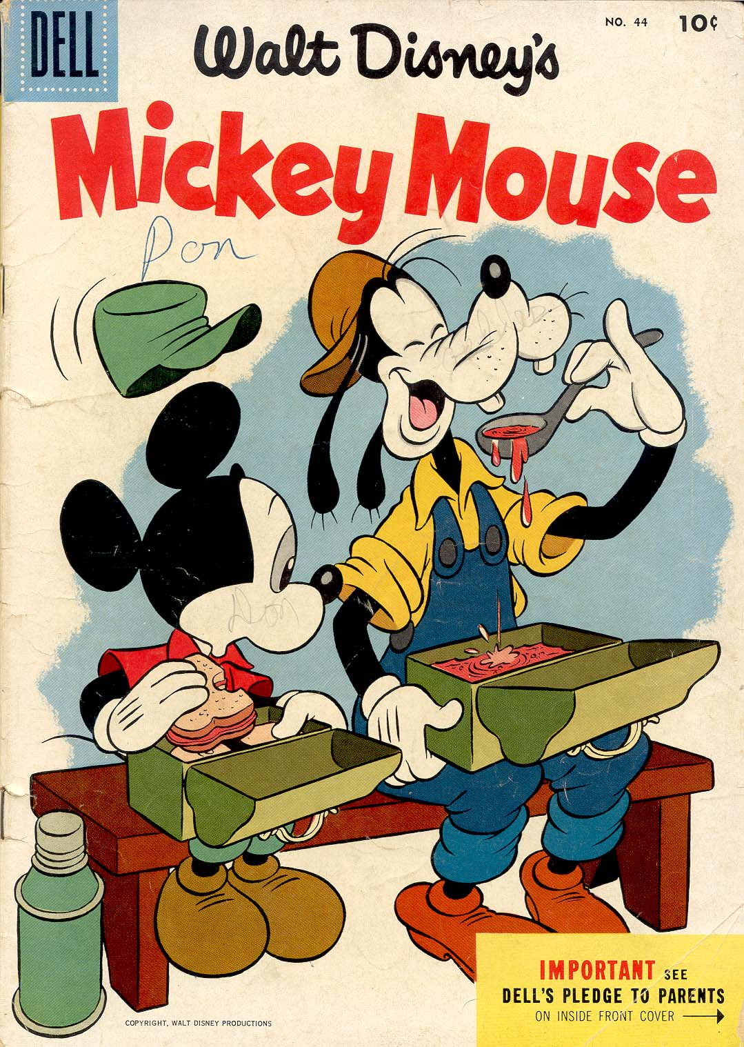 Walt Disney's Mickey Mouse issue 44 - Page 1