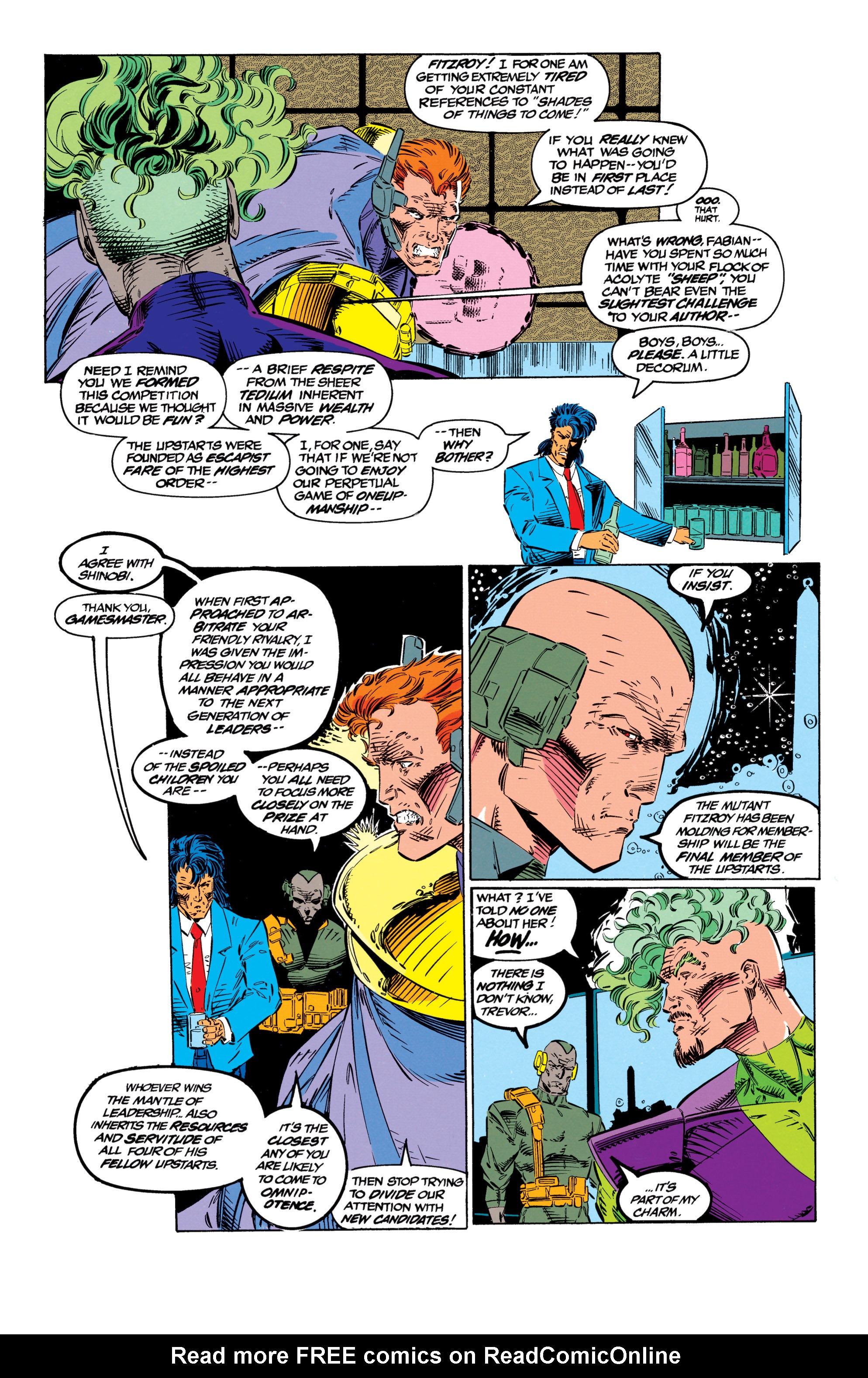 Read online Uncanny X-Men (1963) comic -  Issue #299 - 12