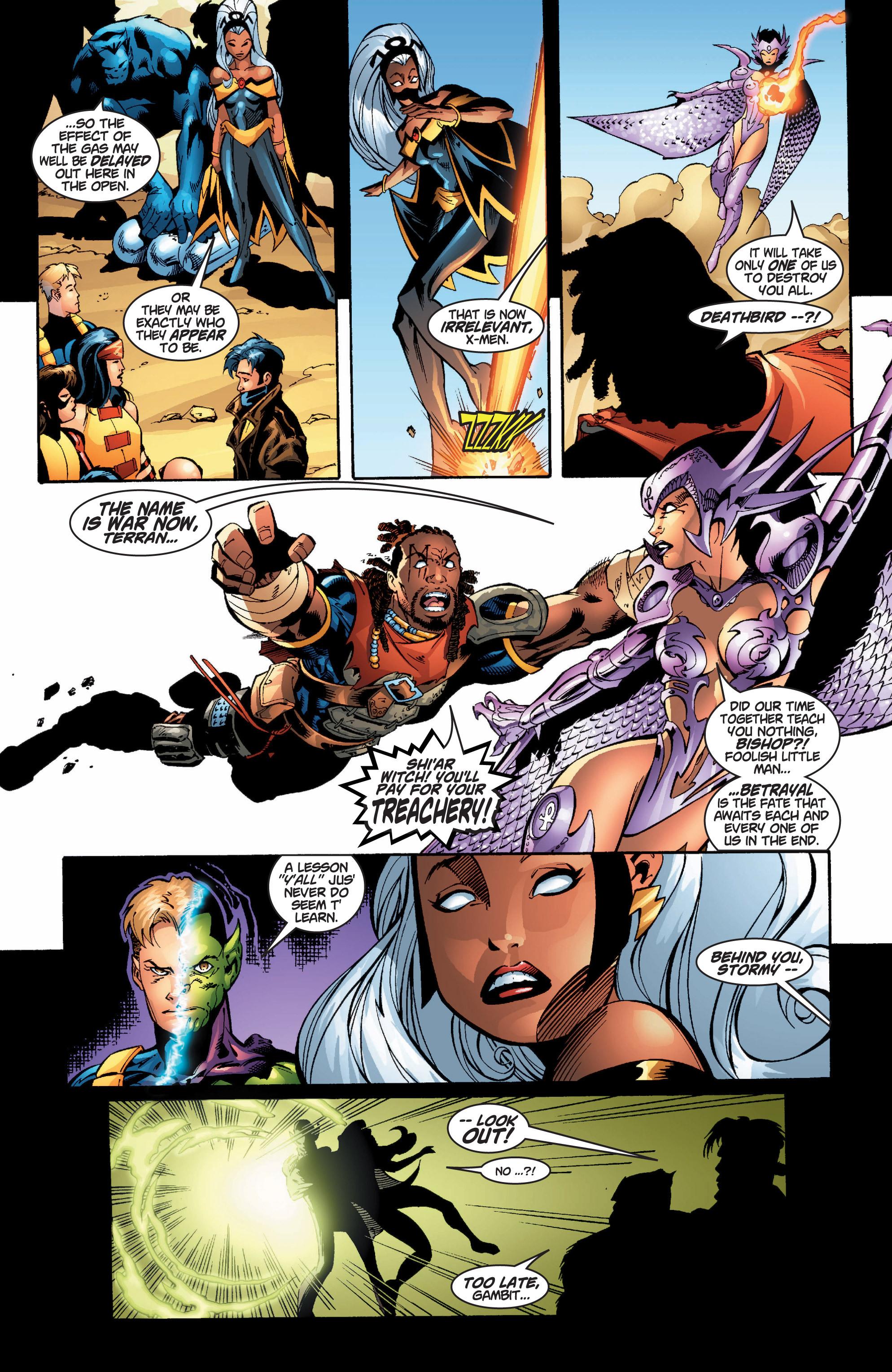 Read online Uncanny X-Men (1963) comic -  Issue #377 - 16
