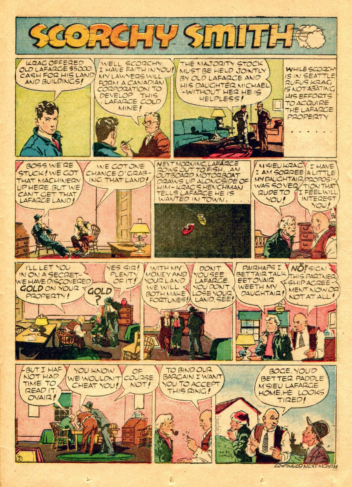 Read online Famous Funnies comic -  Issue #62 - 48