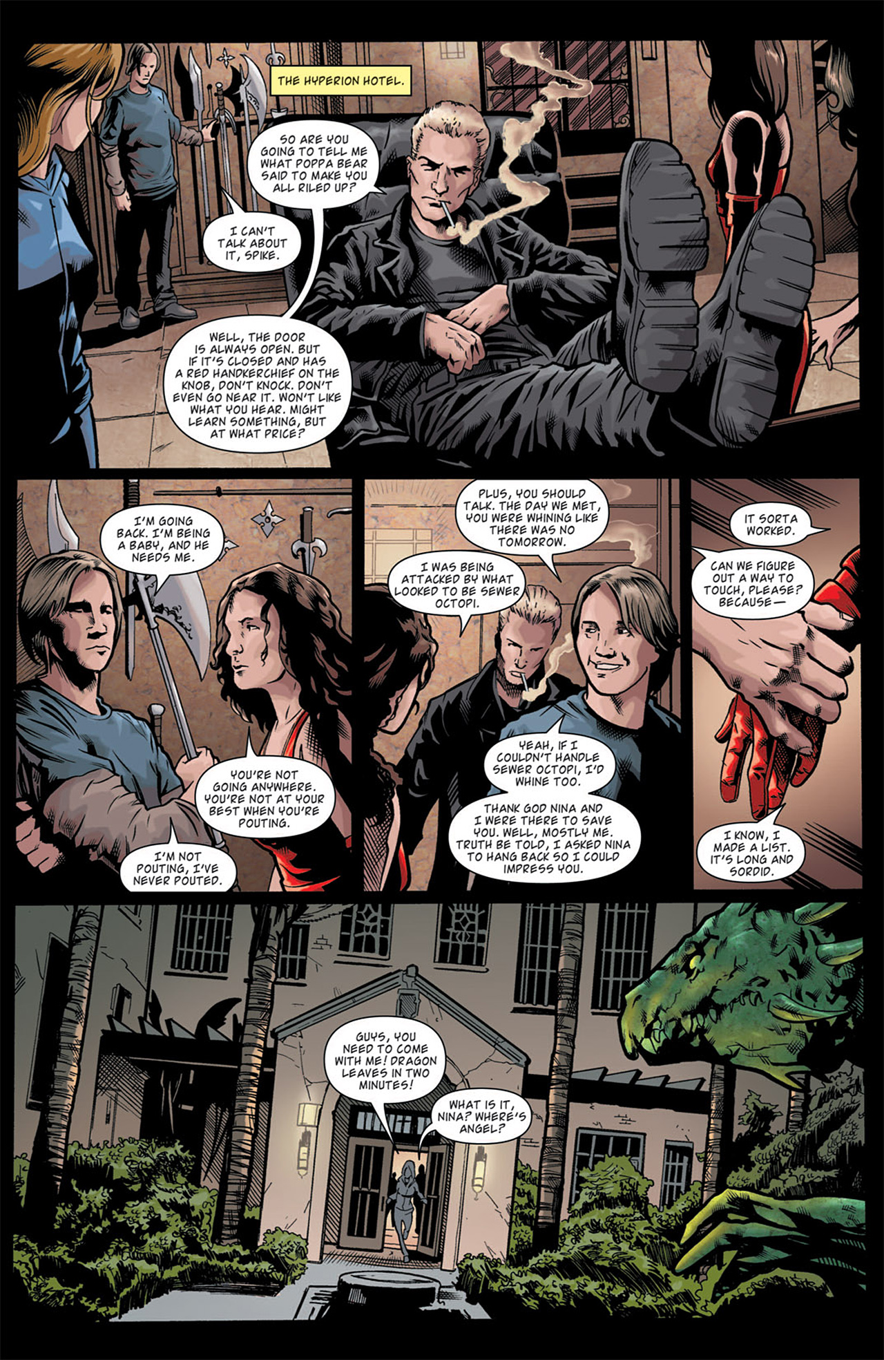 Read online Angel: After The Fall comic -  Issue #11 - 8