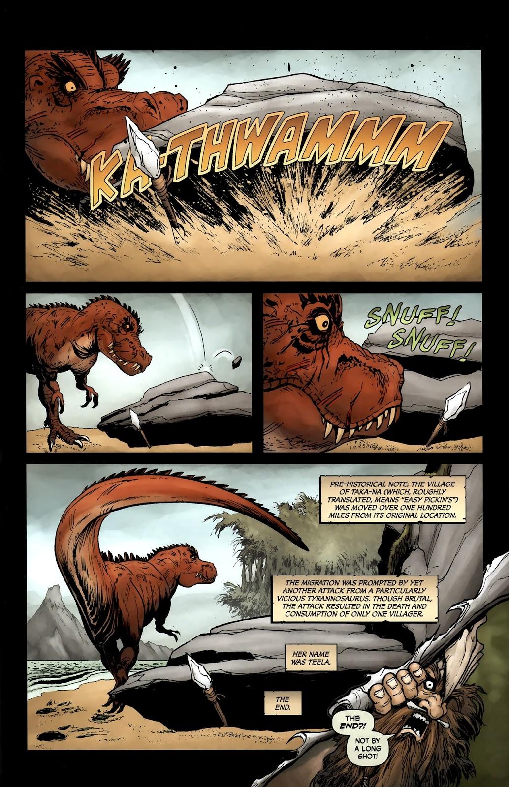 Read online Tyrannosaurus Rex comic -  Issue # Full - 25