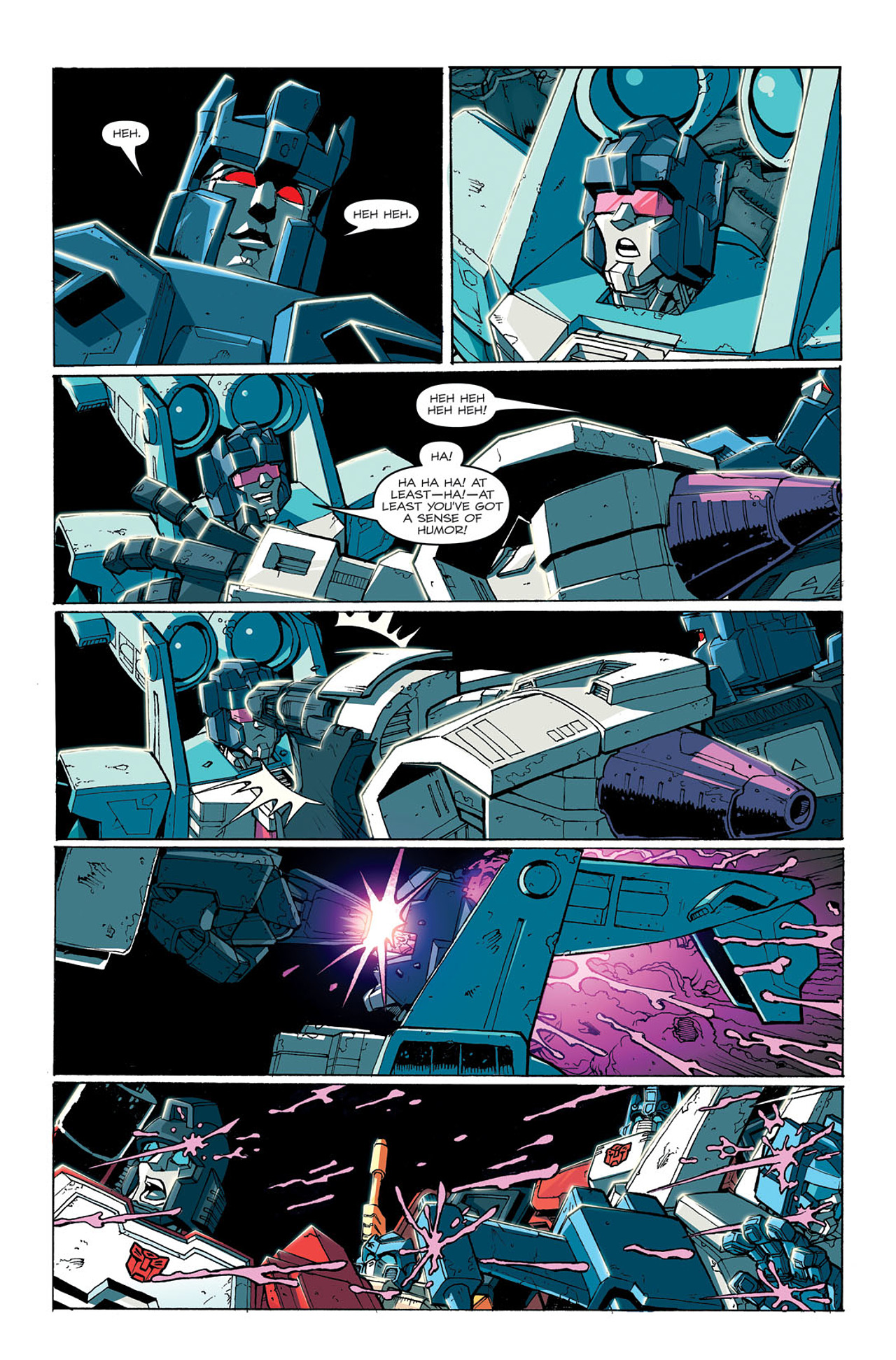 Read online Transformers: Last Stand of The Wreckers comic -  Issue #3 - 10