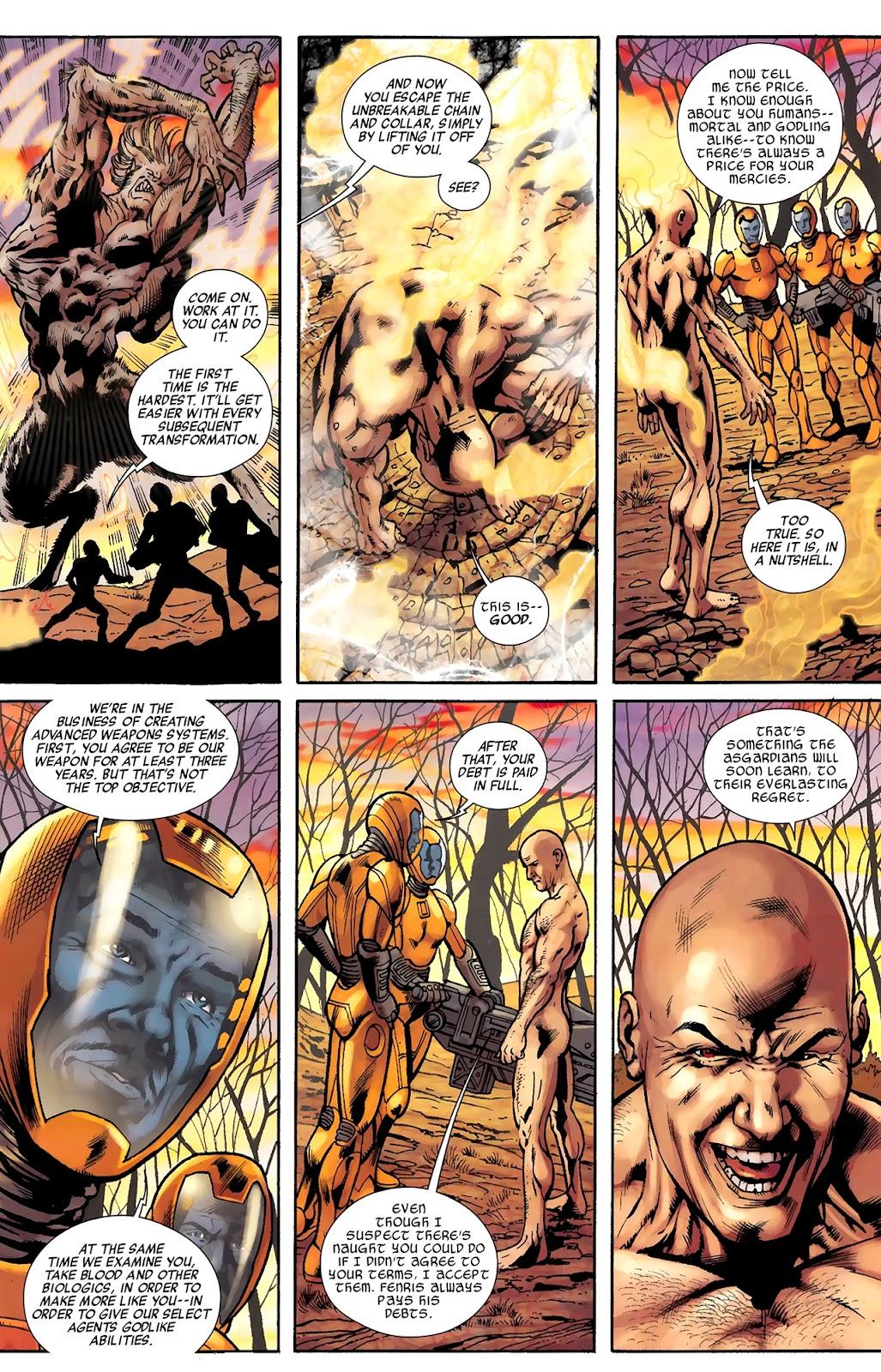 Warriors Three Issue #3 #3 - English 13