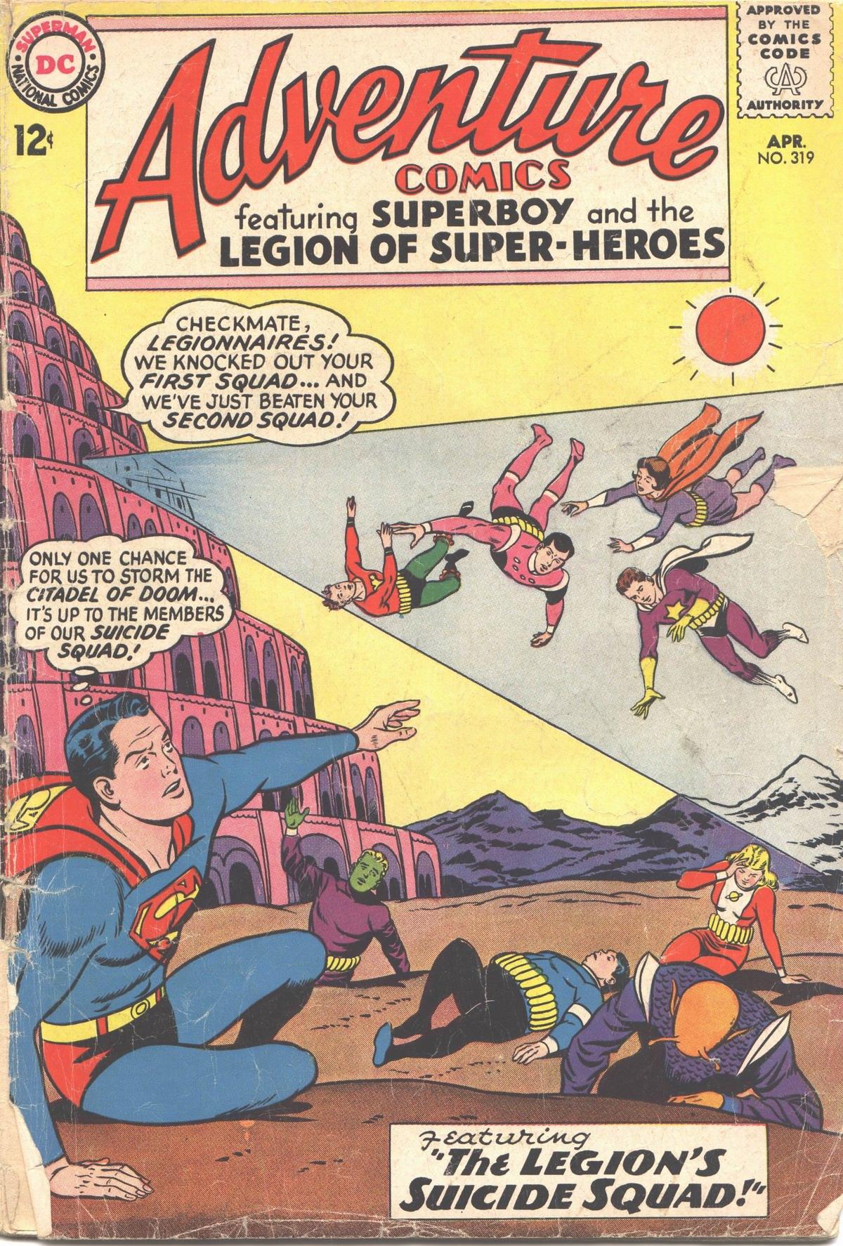 Read online Adventure Comics (1938) comic -  Issue #319 - 2