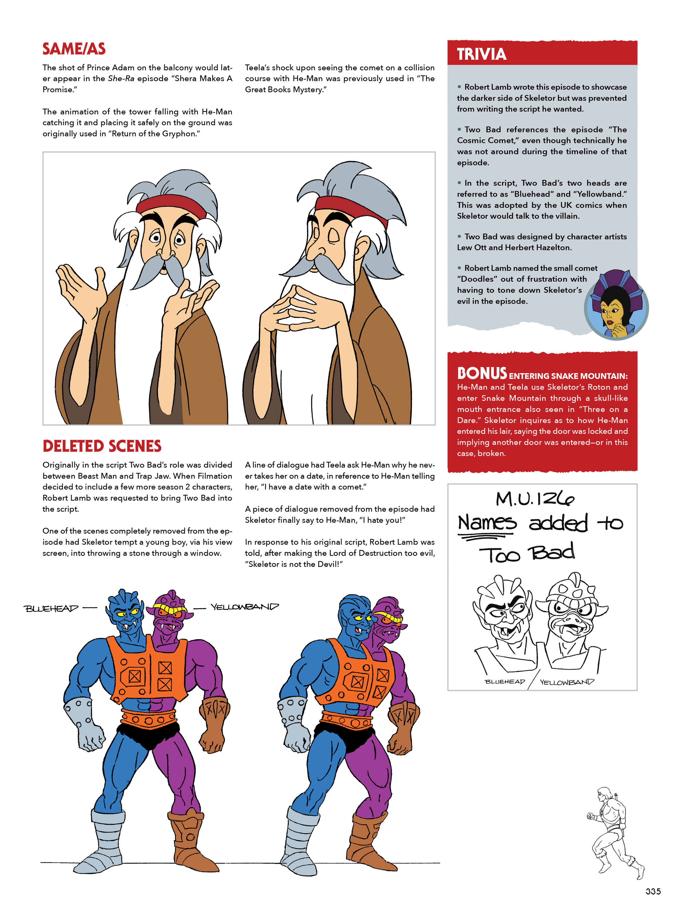 Read online He-Man and She-Ra: A Complete Guide to the Classic Animated Adventures comic -  Issue # TPB (Part 2) - 136