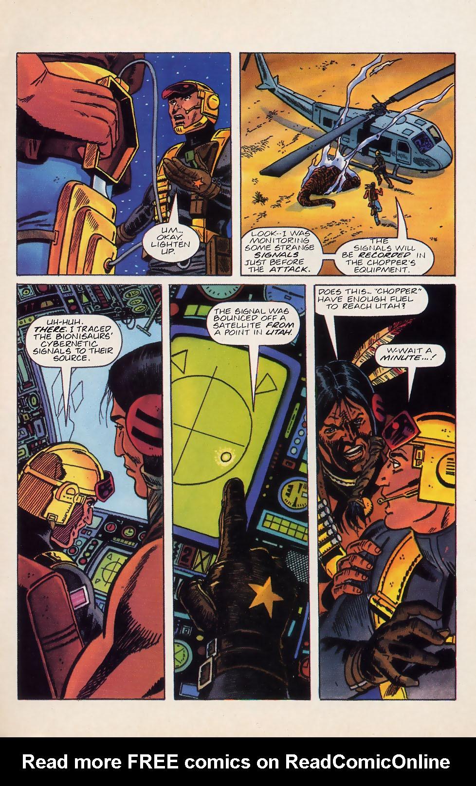 Read online Turok, Dinosaur Hunter (1993) comic -  Issue #18 - 4