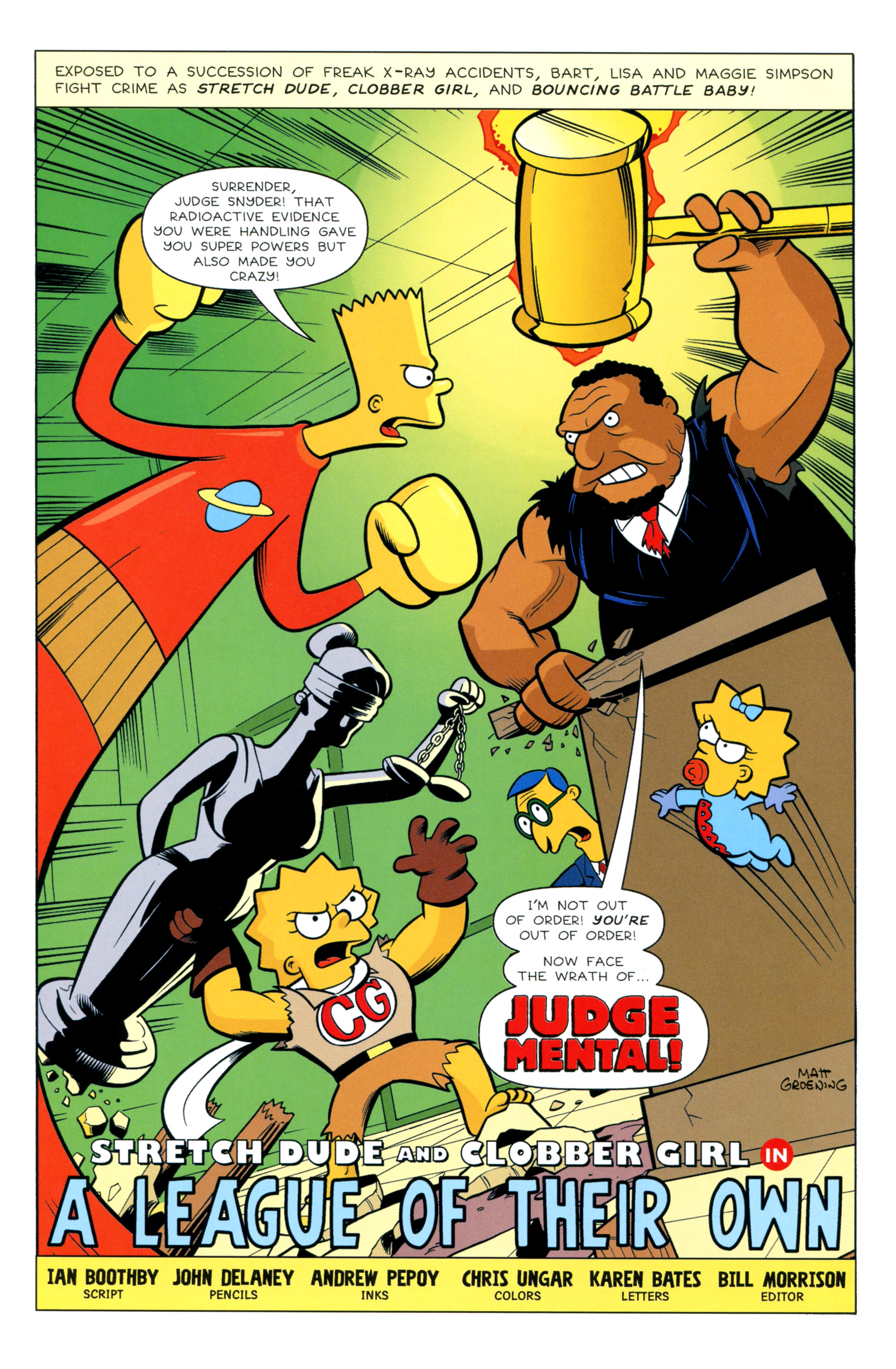 Read online Simpsons Illustrated (2012) comic -  Issue #8 - 36
