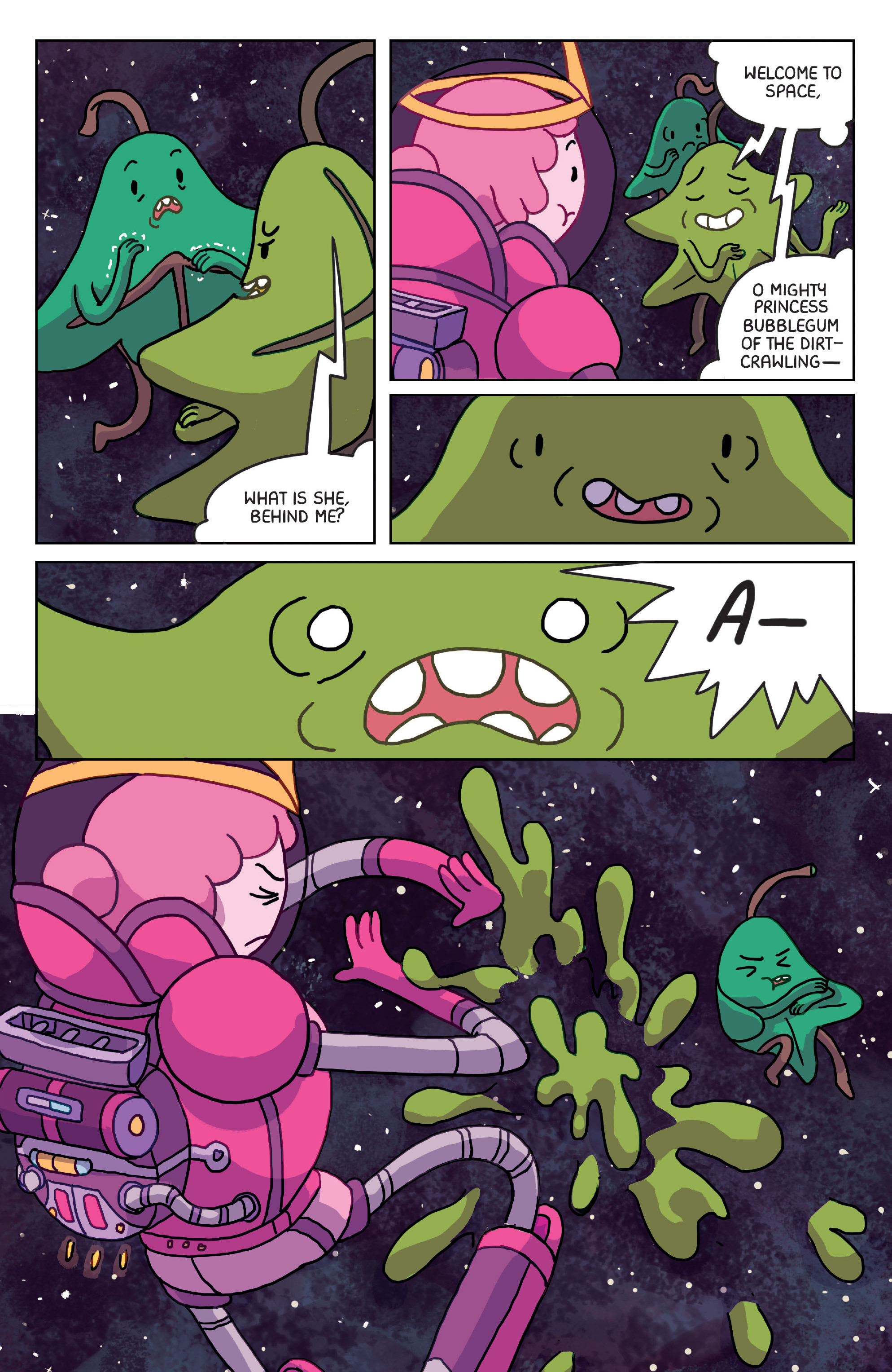 Read online Adventure Time: Marceline Gone Adrift comic -  Issue #4 - 7