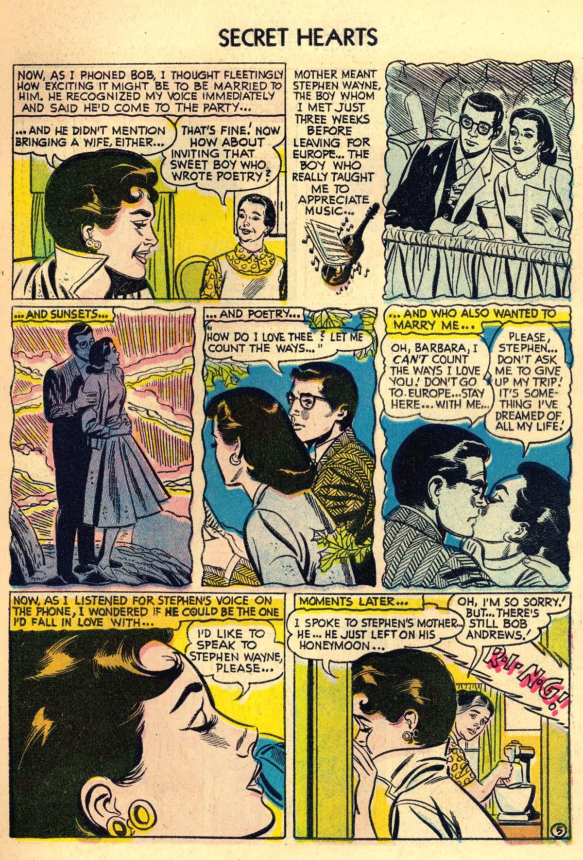 Read online Secret Hearts comic -  Issue #30 - 7