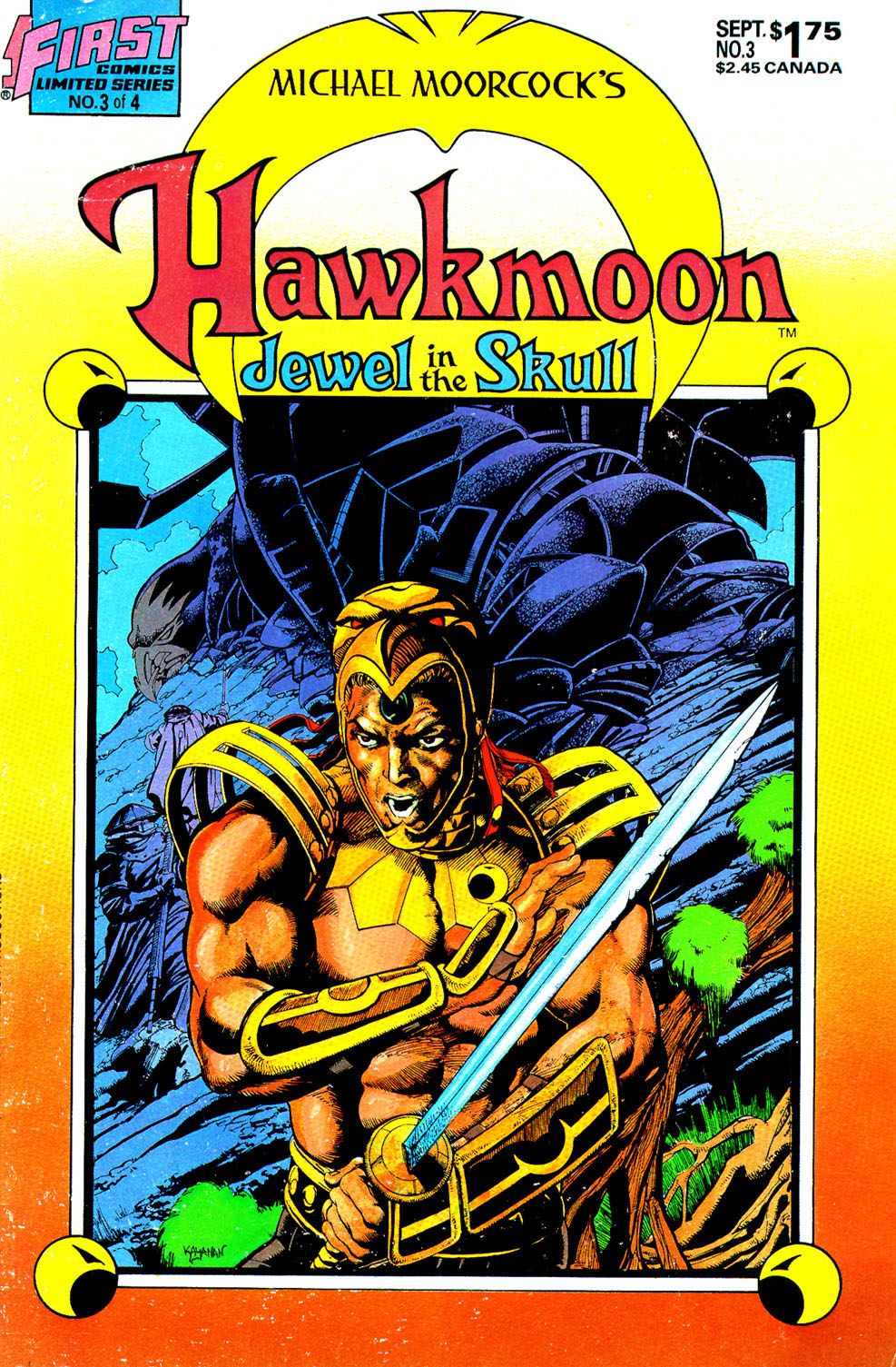 Read online Hawkmoon: The Jewel in the Skull comic -  Issue #3 - 1