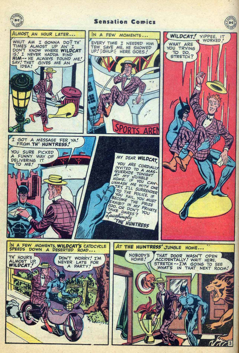 Read online Sensation (Mystery) Comics comic -  Issue #73 - 44