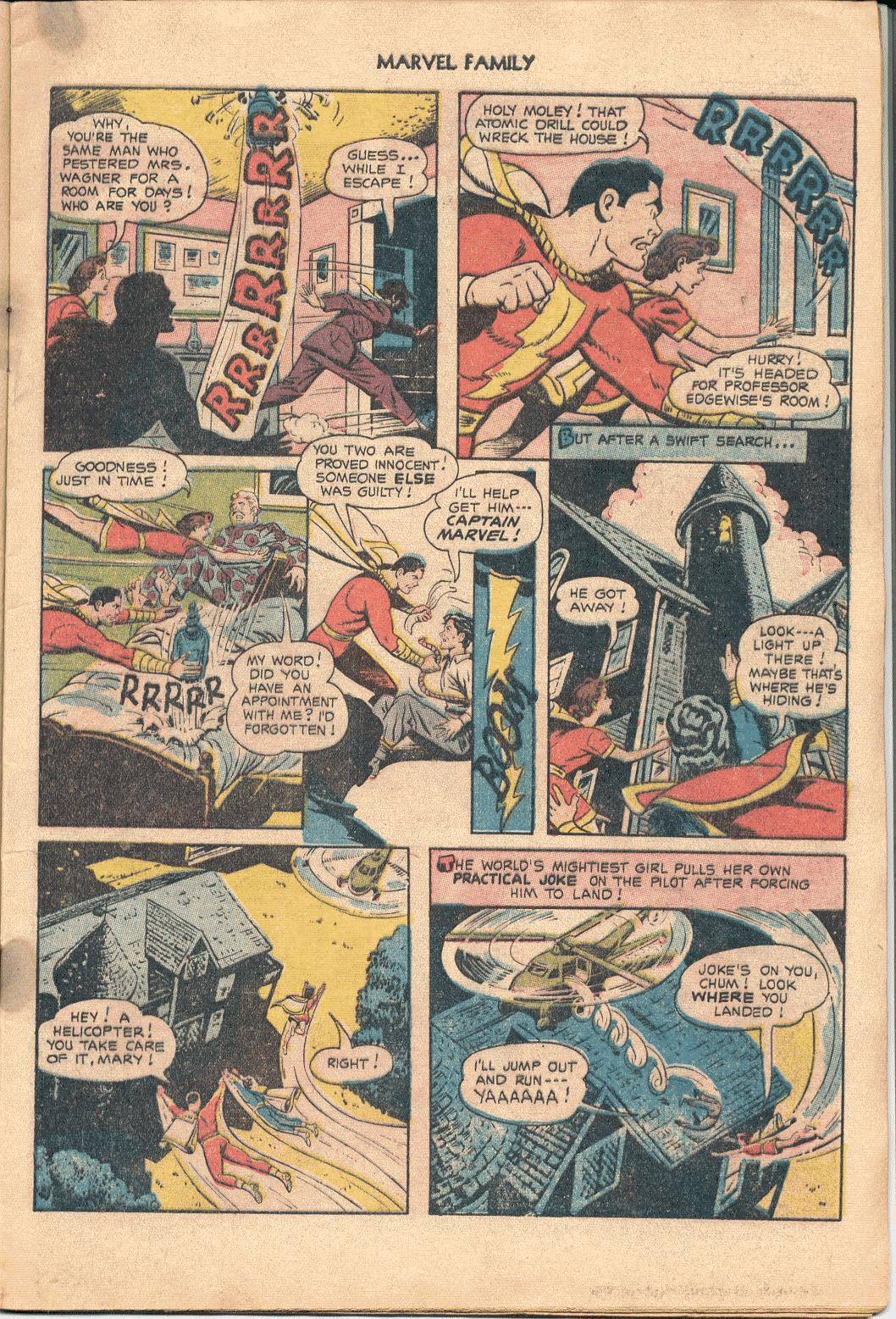 The Marvel Family issue 88 - Page 9
