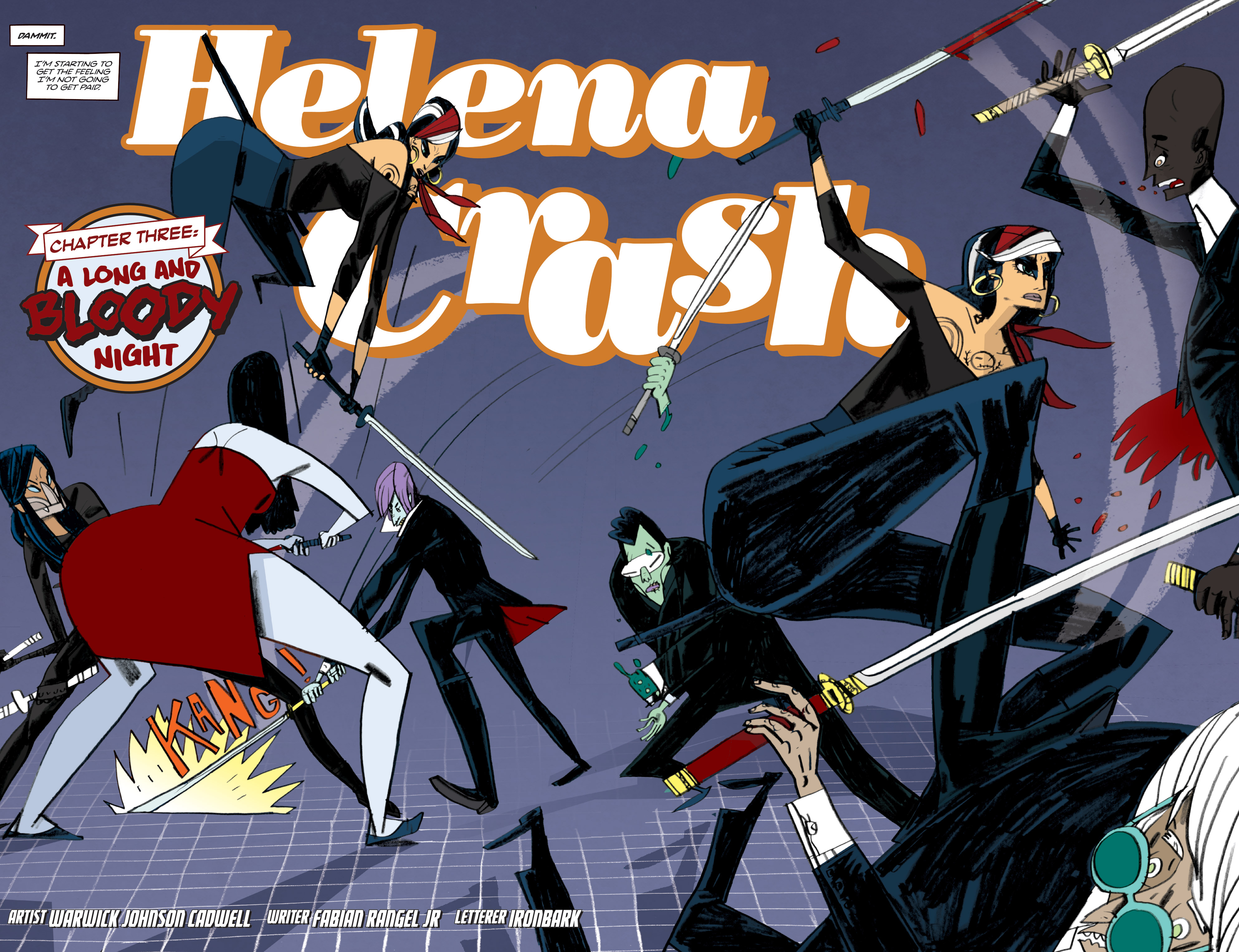 Read online Helena Crash comic -  Issue #3 - 4
