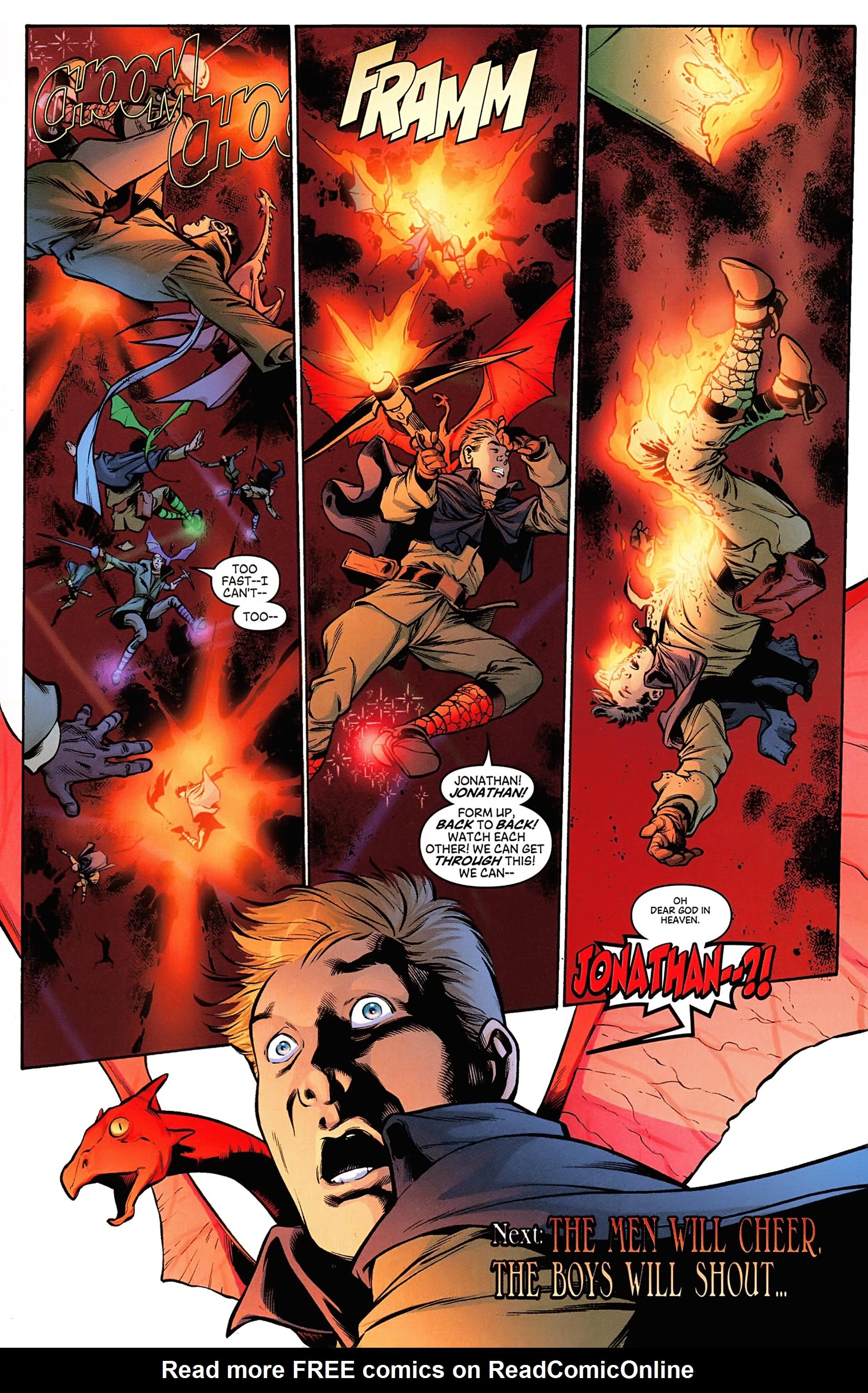 Read online Arrowsmith comic -  Issue #3 - 23