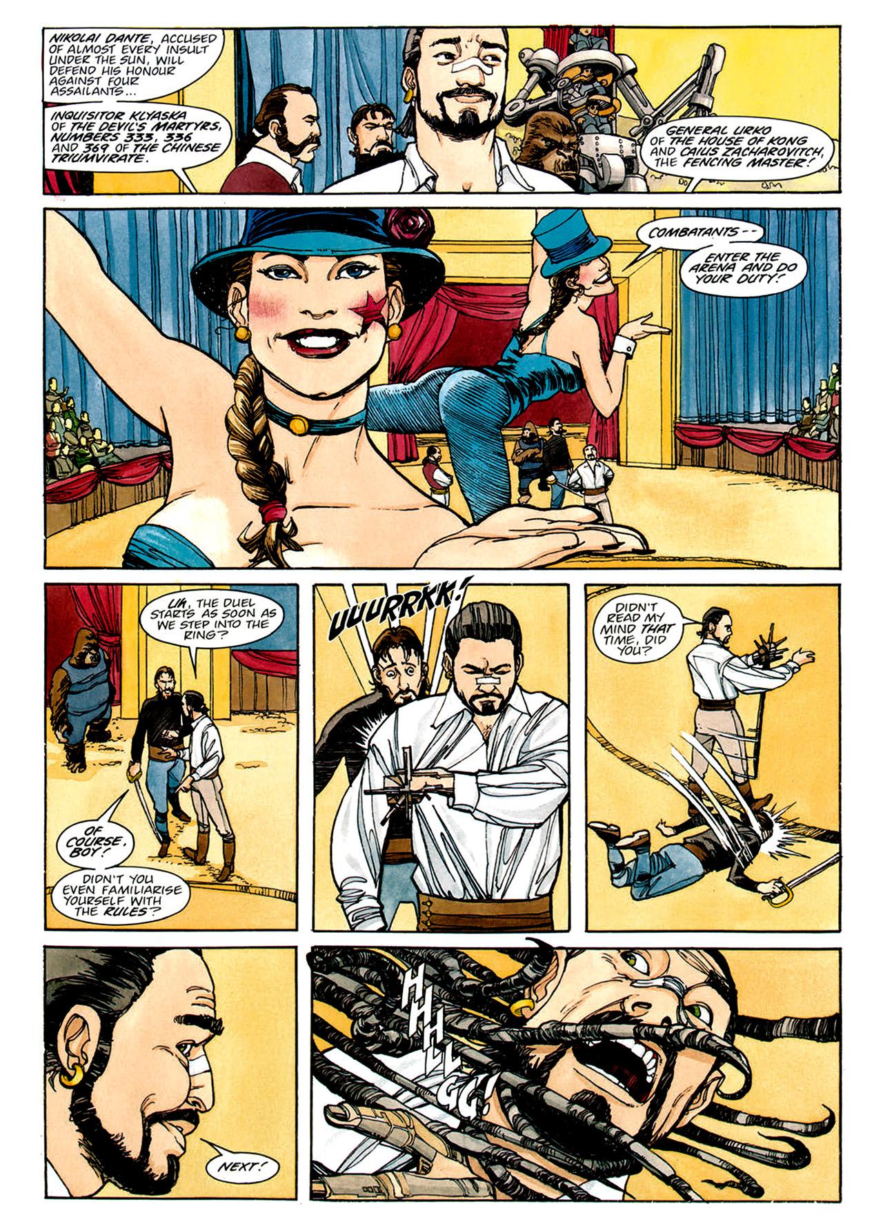 Read online Nikolai Dante comic -  Issue # TPB 1 - 145