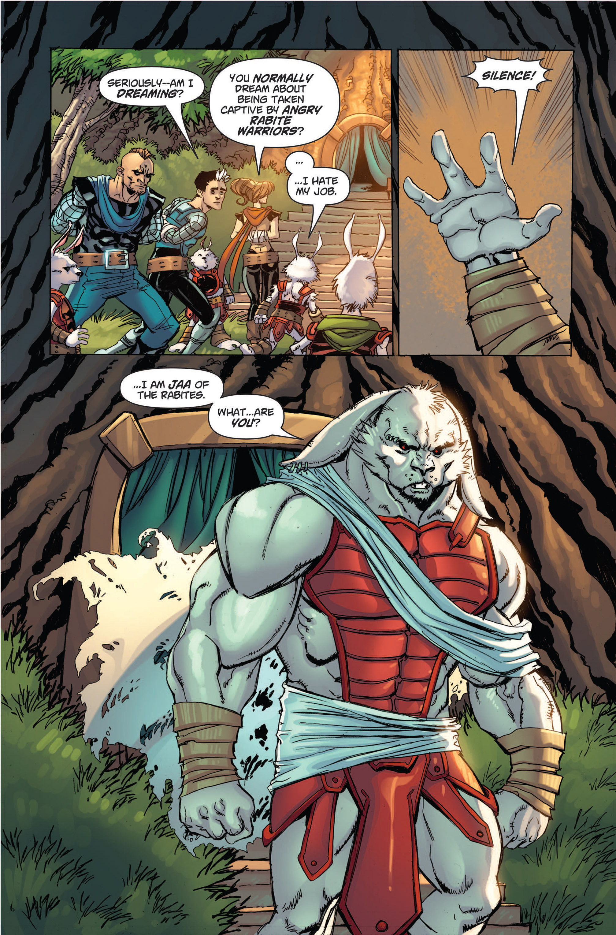 Read online Skyward comic -  Issue #4 - 11