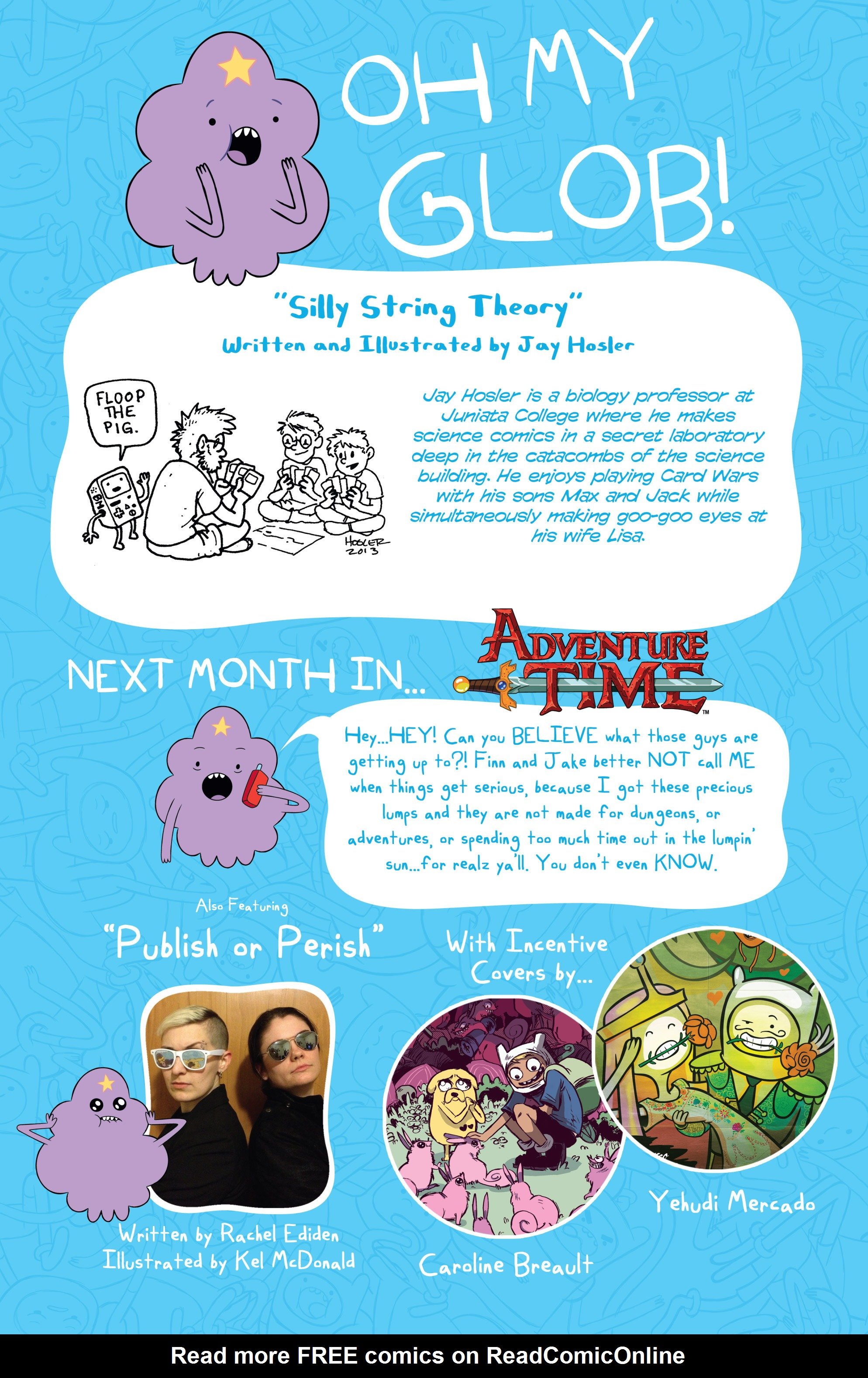 Read online Adventure Time comic -  Issue #17 - 28