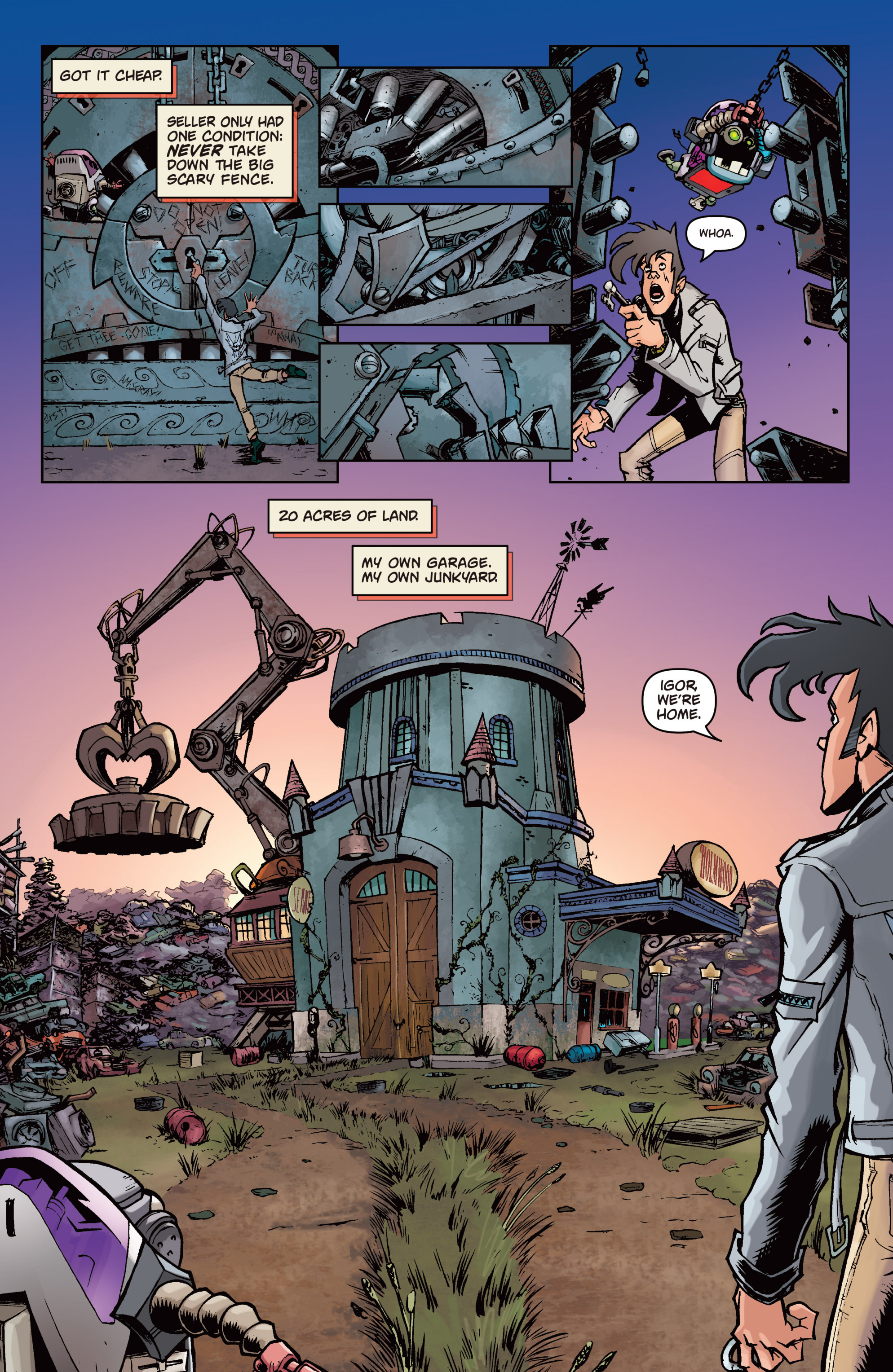 Read online Monster Motors comic -  Issue # Full - 7