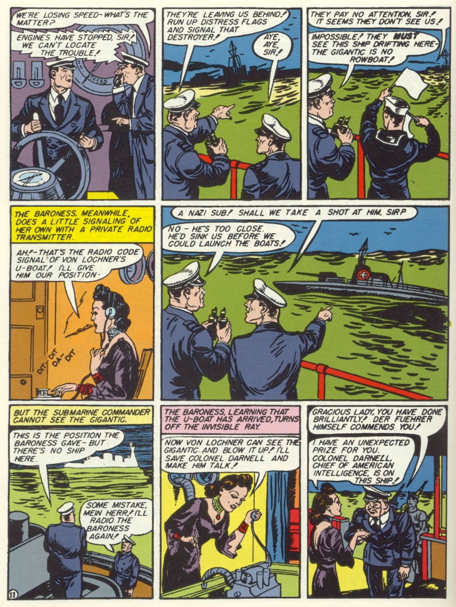 Read online Sensation (Mystery) Comics comic -  Issue #6 - 13