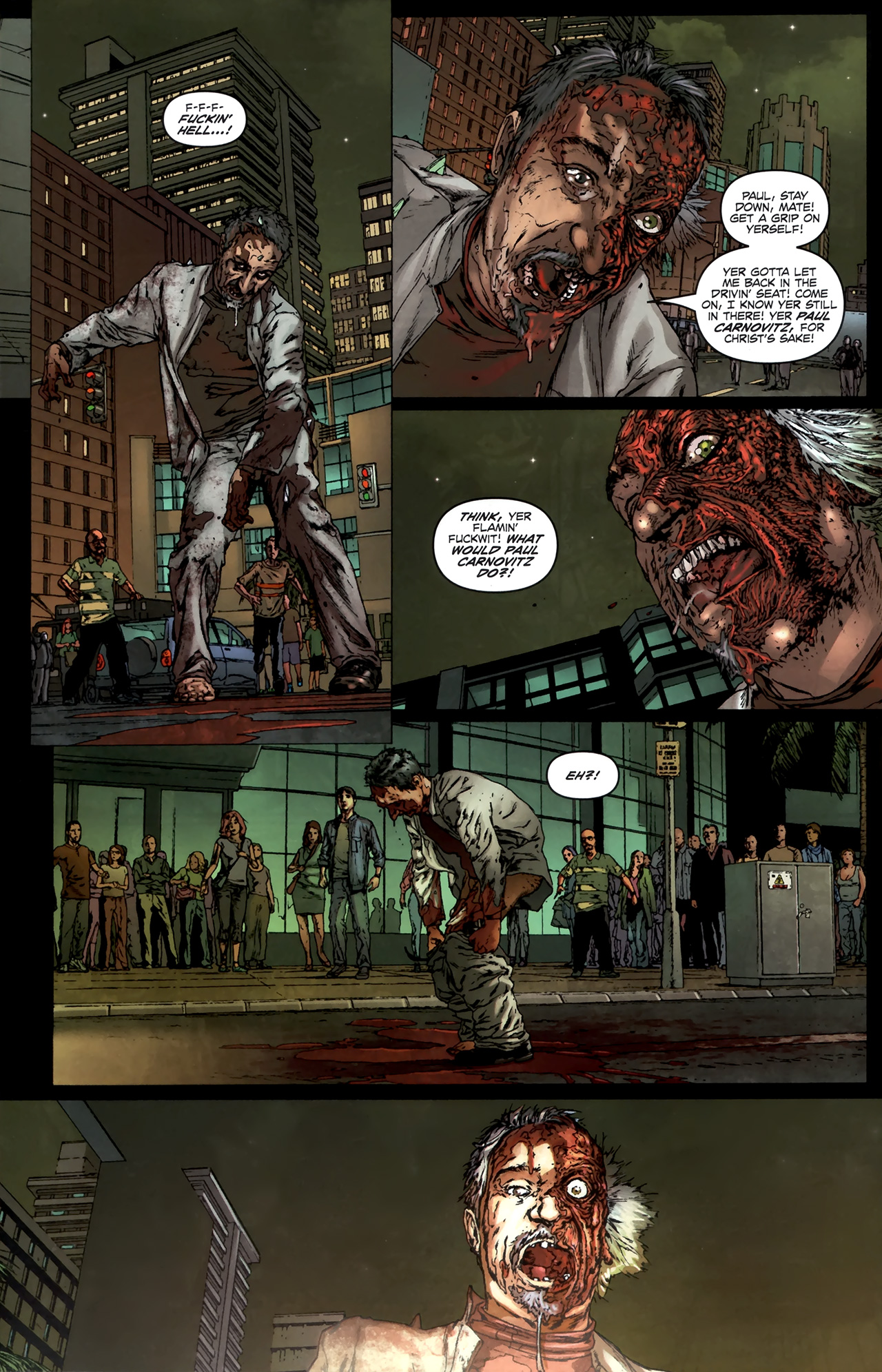 Read online Chronicles of Wormwood: The Last Battle comic -  Issue #6 - 20