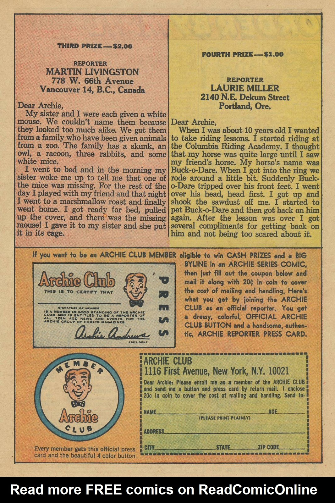Read online Archie (1960) comic -  Issue #170 - 27