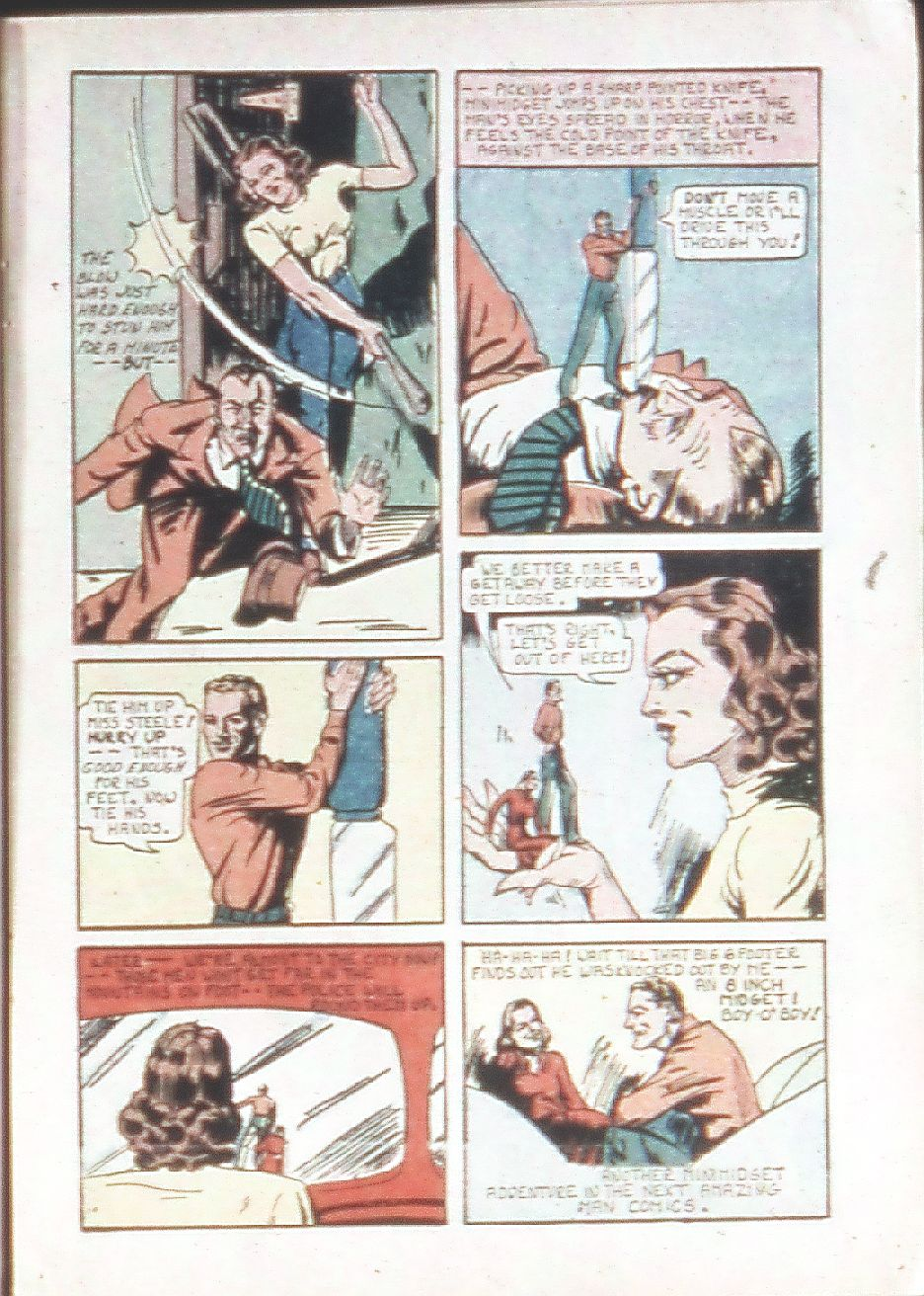 Read online Amazing Man Comics comic -  Issue #18 - 21