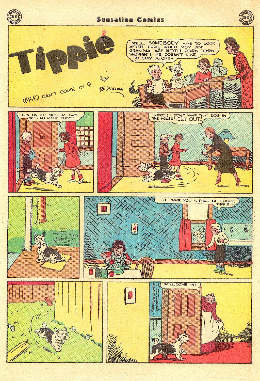 Read online Sensation (Mystery) Comics comic -  Issue #57 - 39