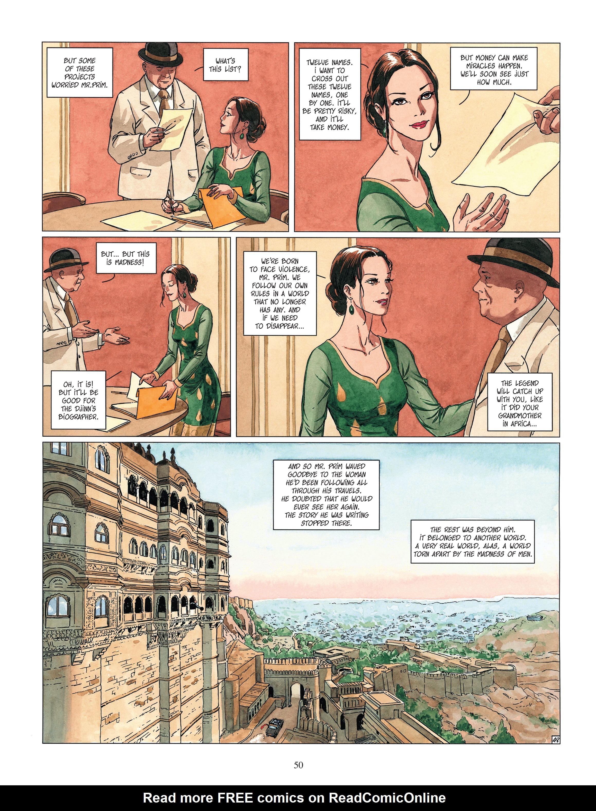 Read online Djinn comic -  Issue #13 - 51