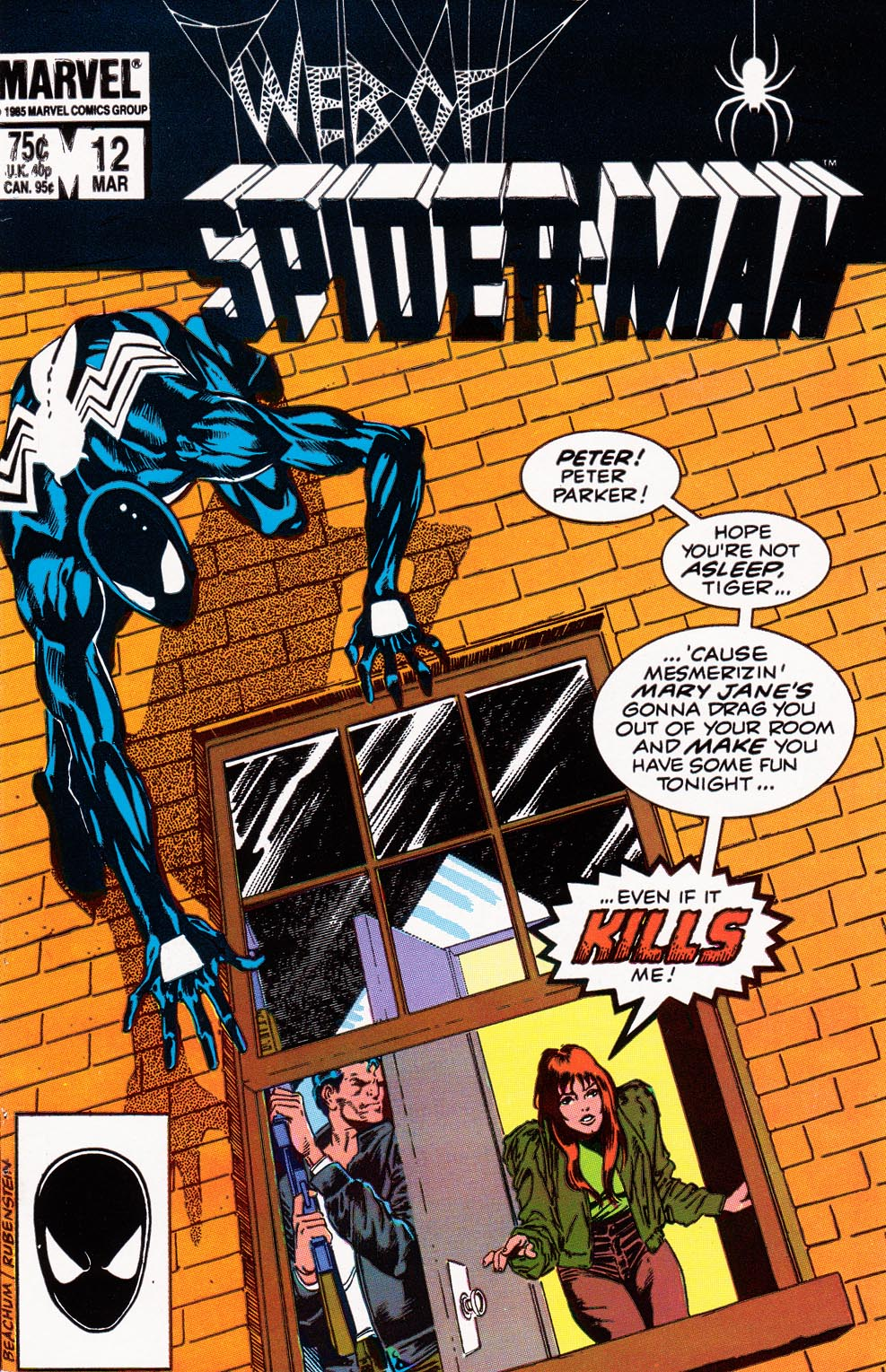 Web of Spider-Man (1985) 12 Page 1