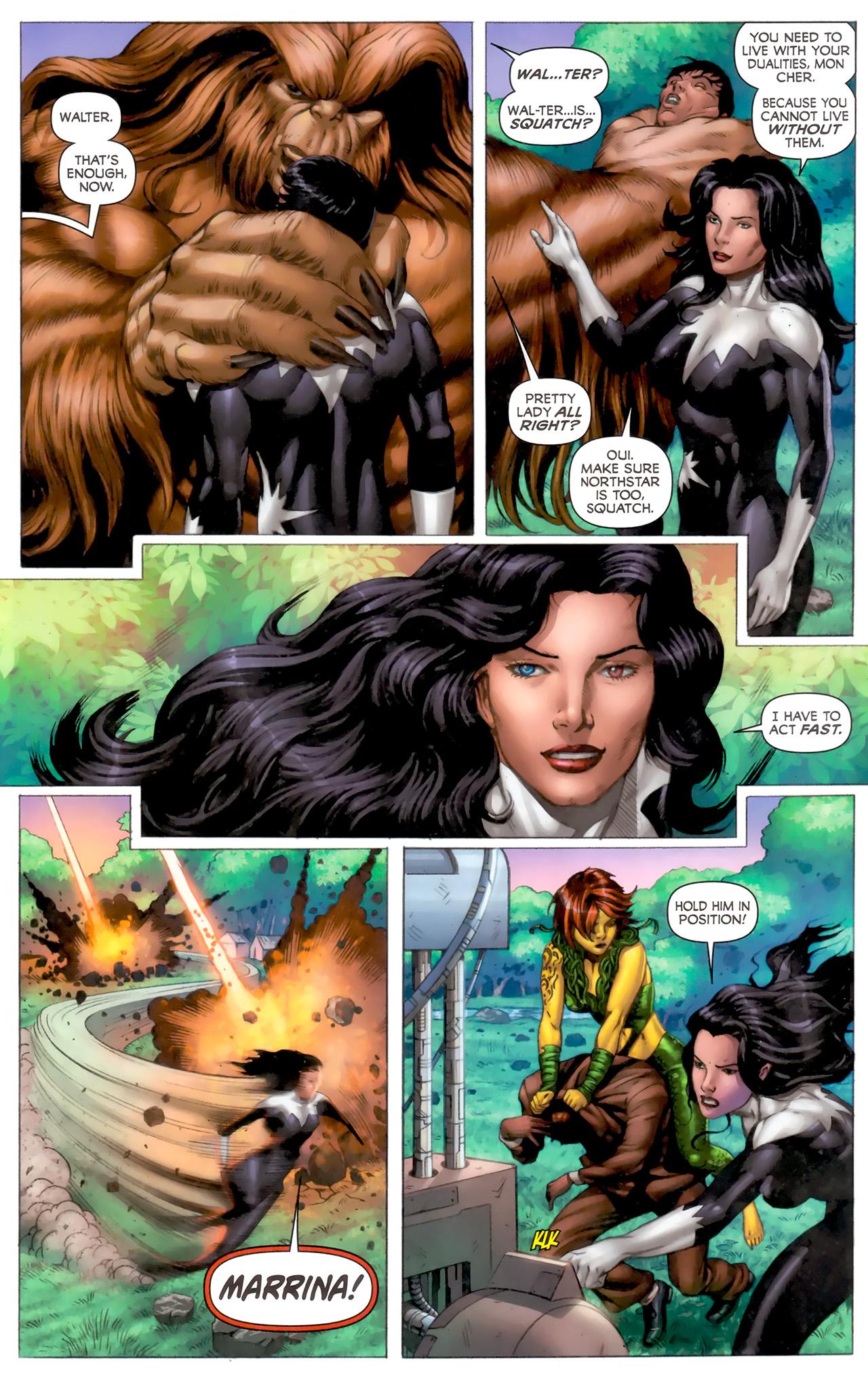 Read online Alpha Flight (2011) comic -  Issue #8 - 17