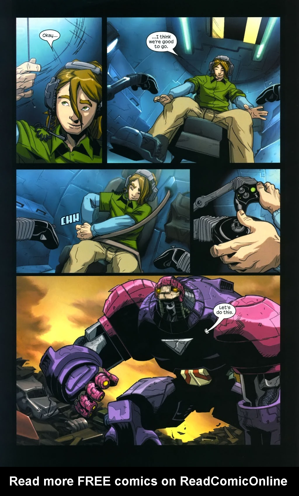 Read online Sentinel (2006) comic -  Issue #4 - 13