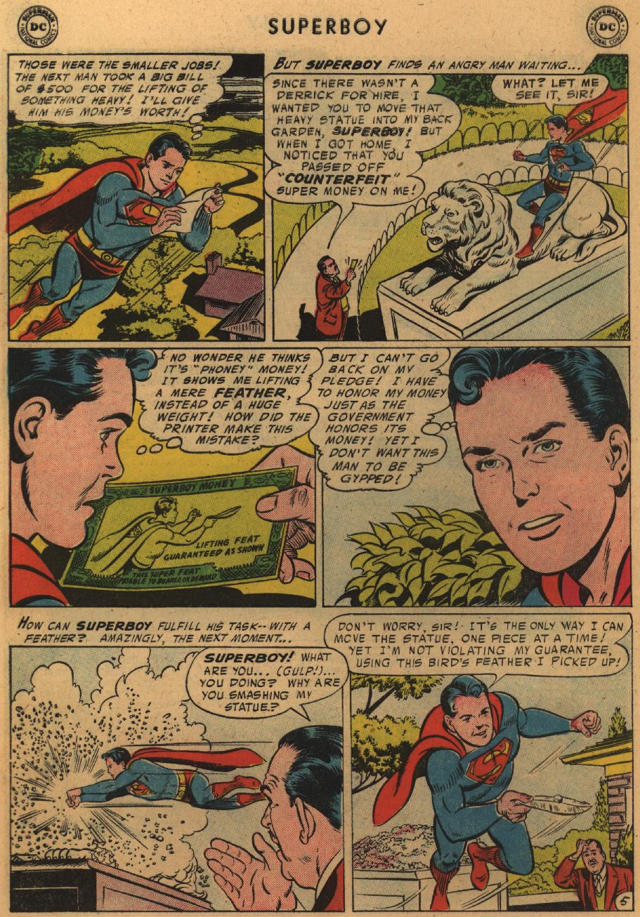 Superboy (1949) issue 51 - Page 21