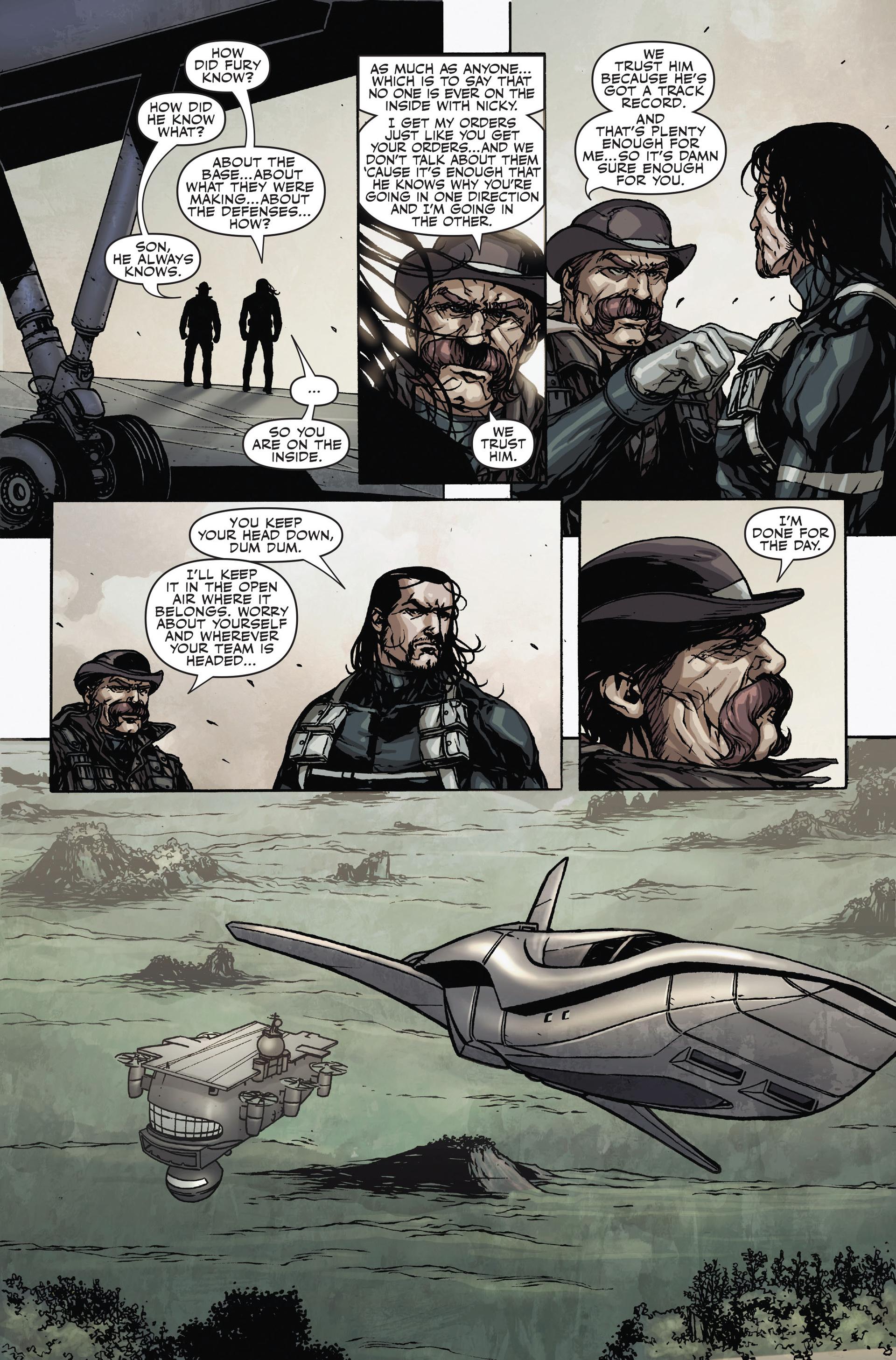 Read online Secret Warriors comic -  Issue #18 - 15